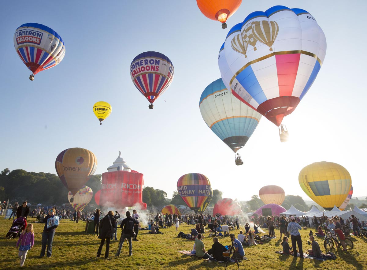 Bristol Balloon Fiesta, de leukste dingen om te doen in Bristol - Map of Joy