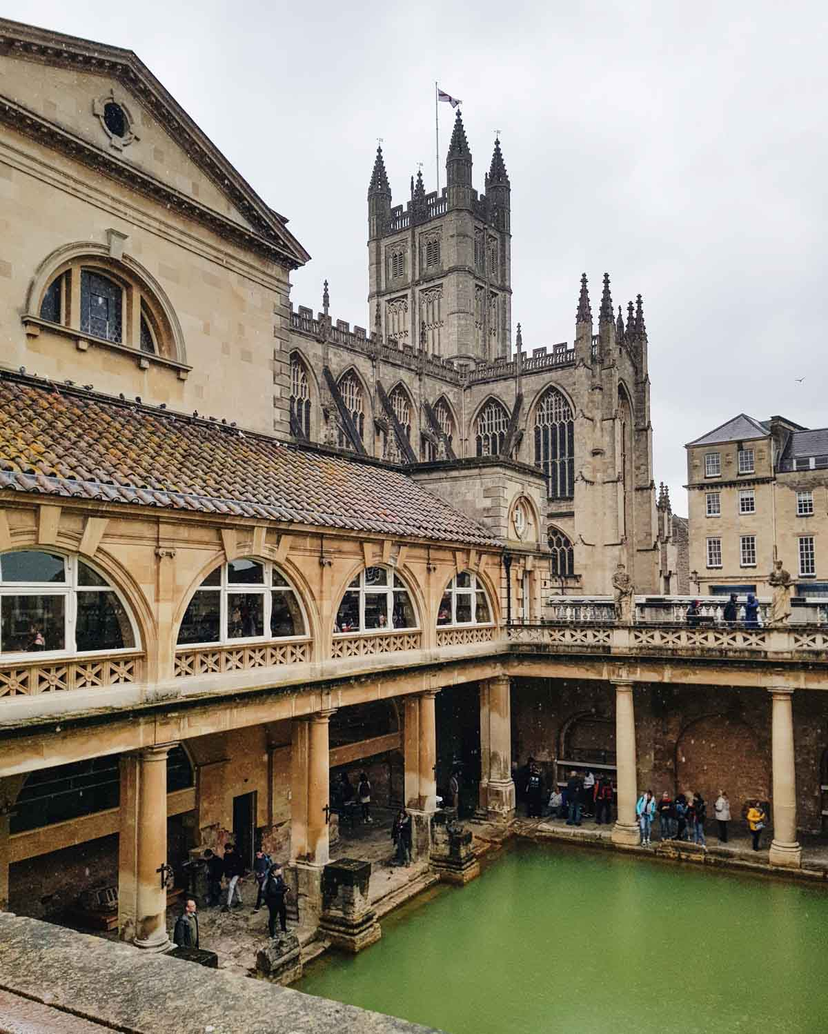Roman Baths in Bath - Map of Joy
