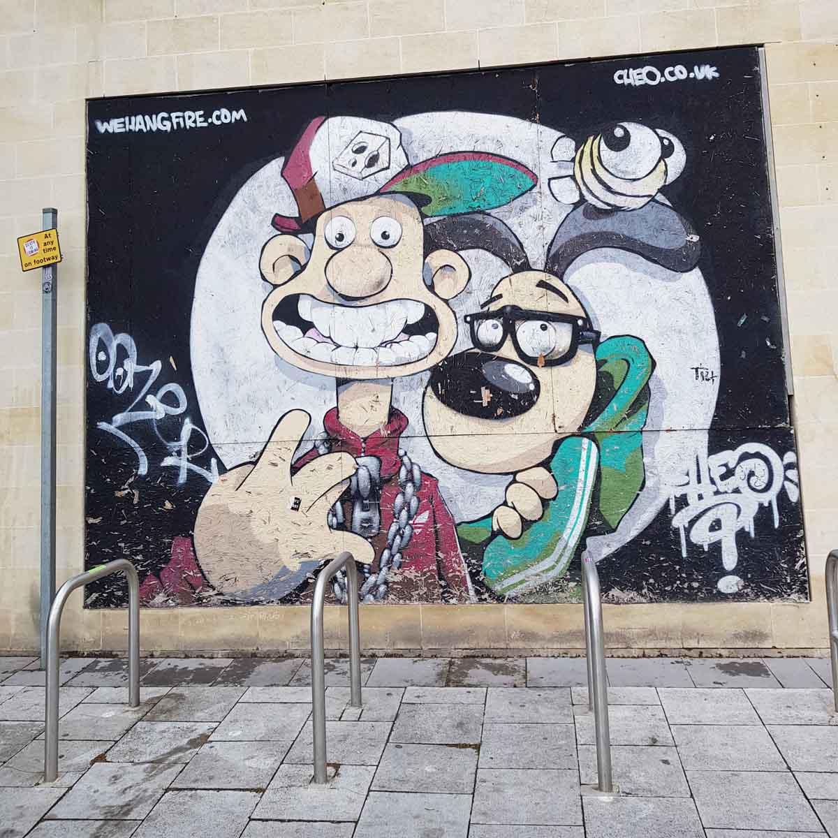Street art bristol, De leukste dingen om te doen in Bristol - Map of Joy