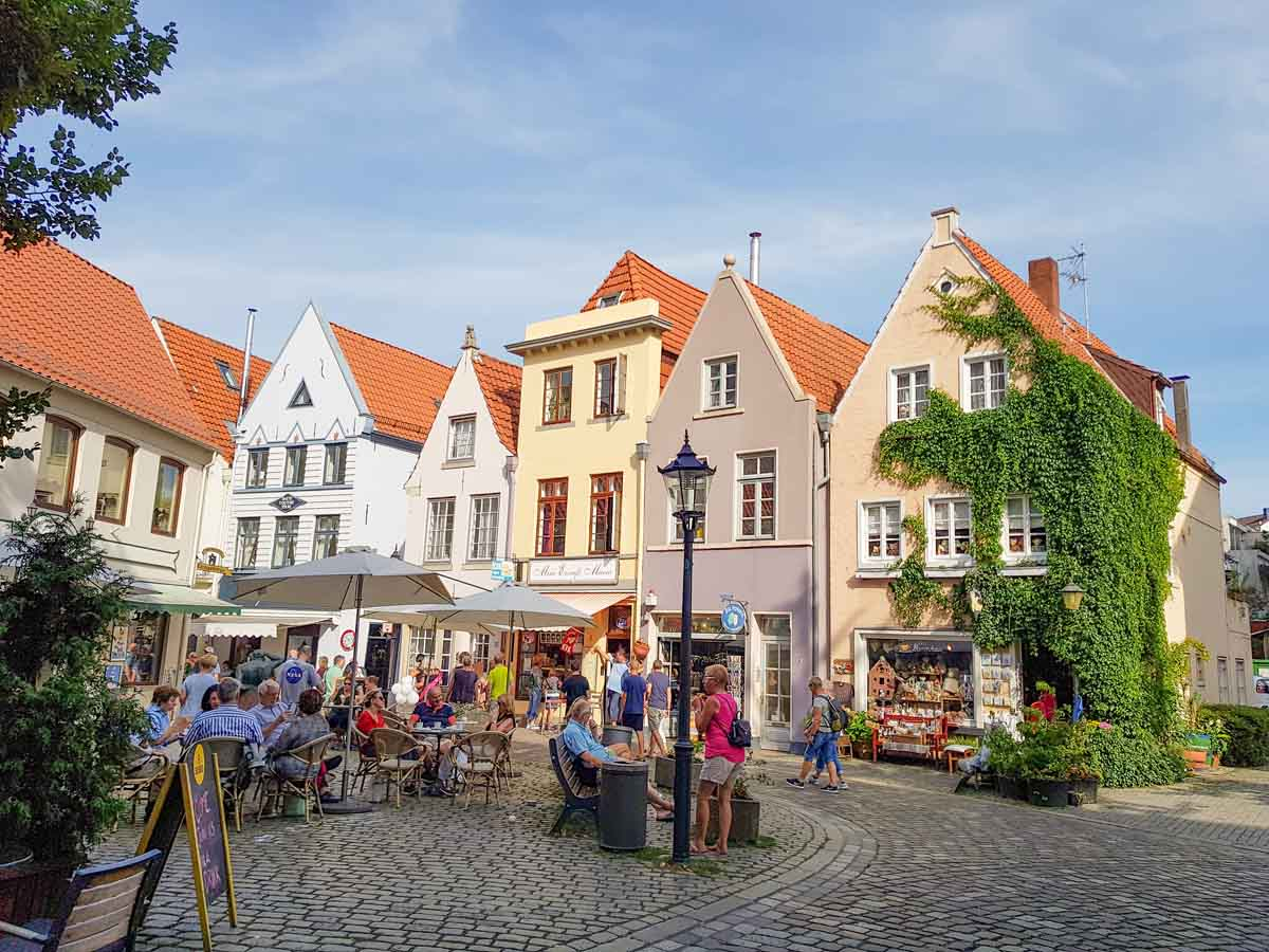 Leuke wijk in Bremen: Schnoor Viertel - Map of Joy