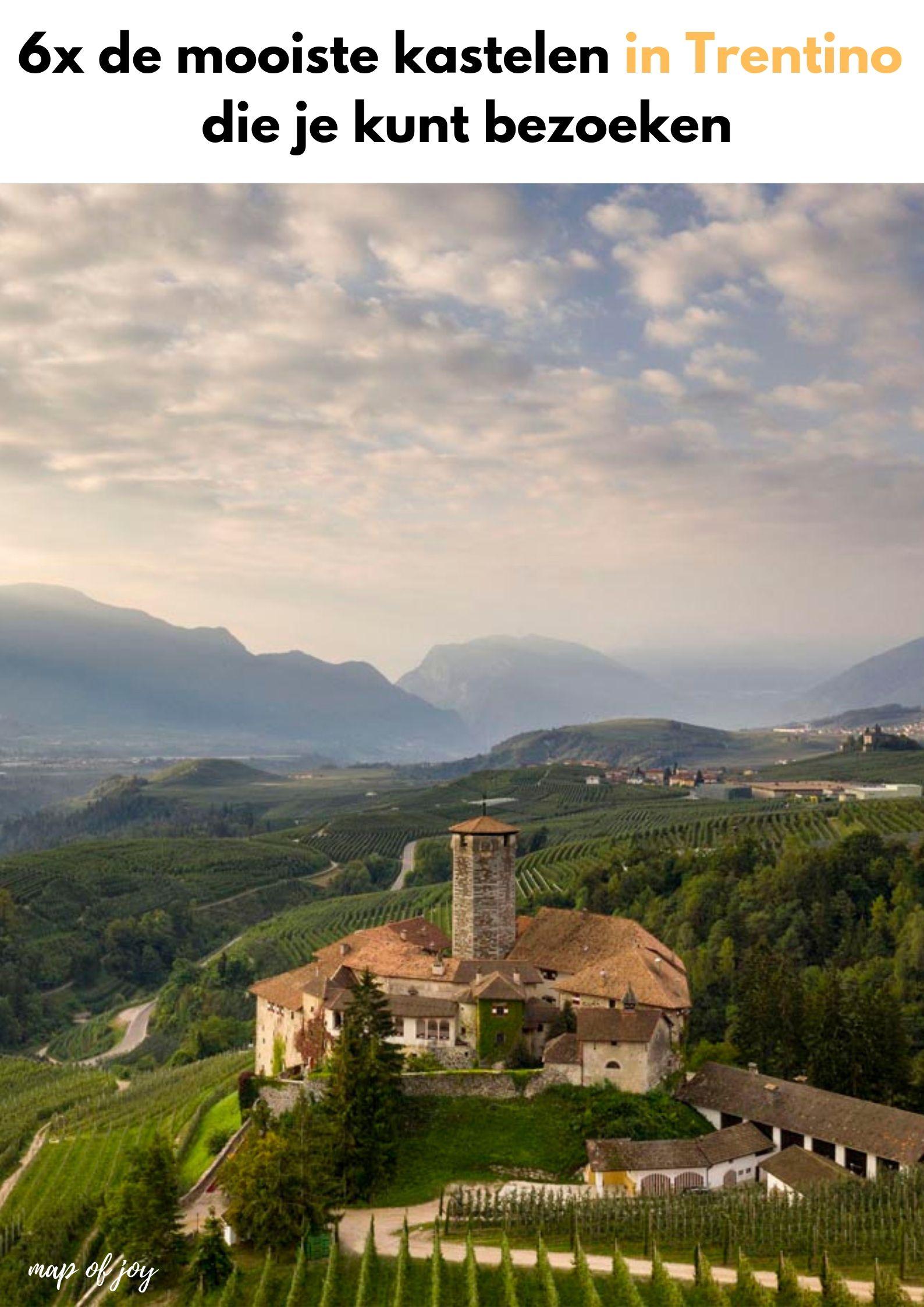 6x de mooiste kastelen in Trentino die je kunt bezoeken - Map of Joy