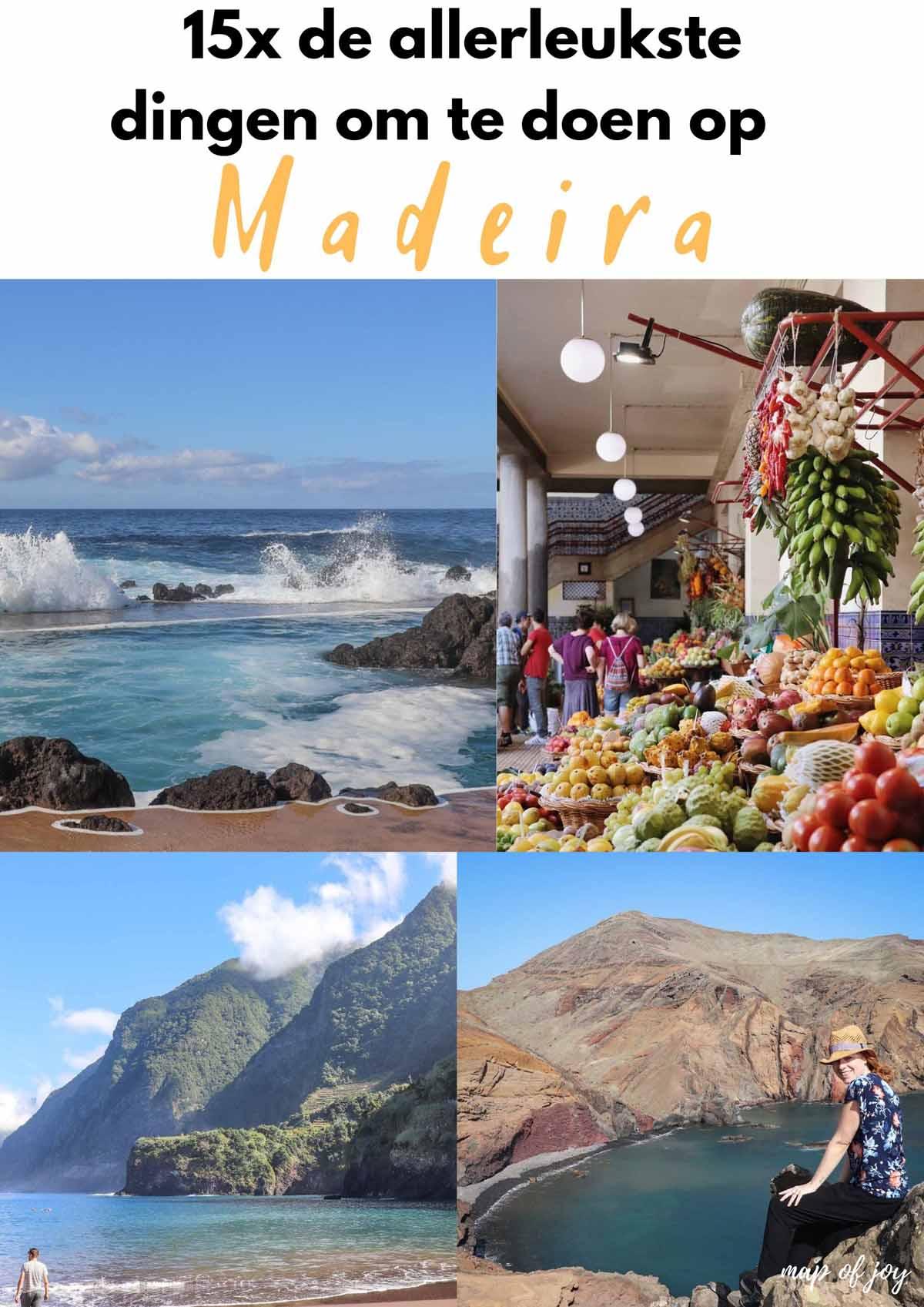 15x de allerleukste dingen om te doen op Madeira - Map of Joy