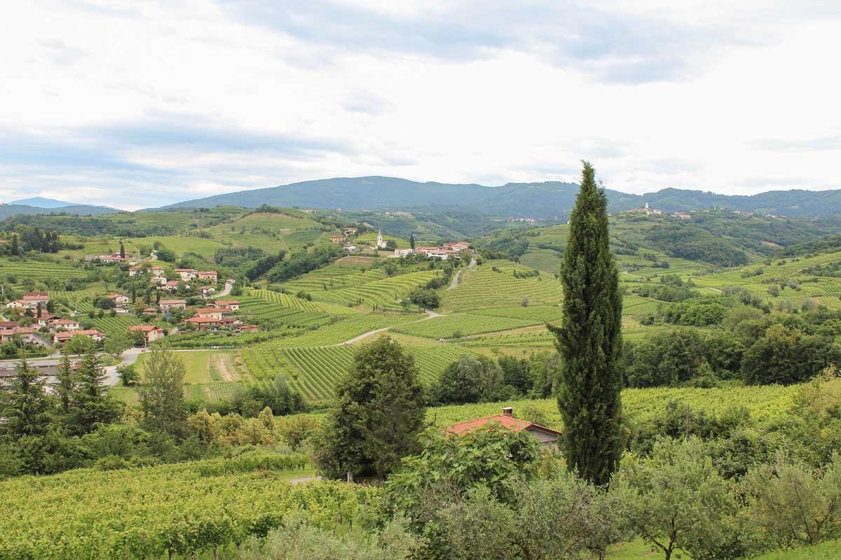12x de allermooiste plekken in West-Slovenië, Brda - Map of Joy