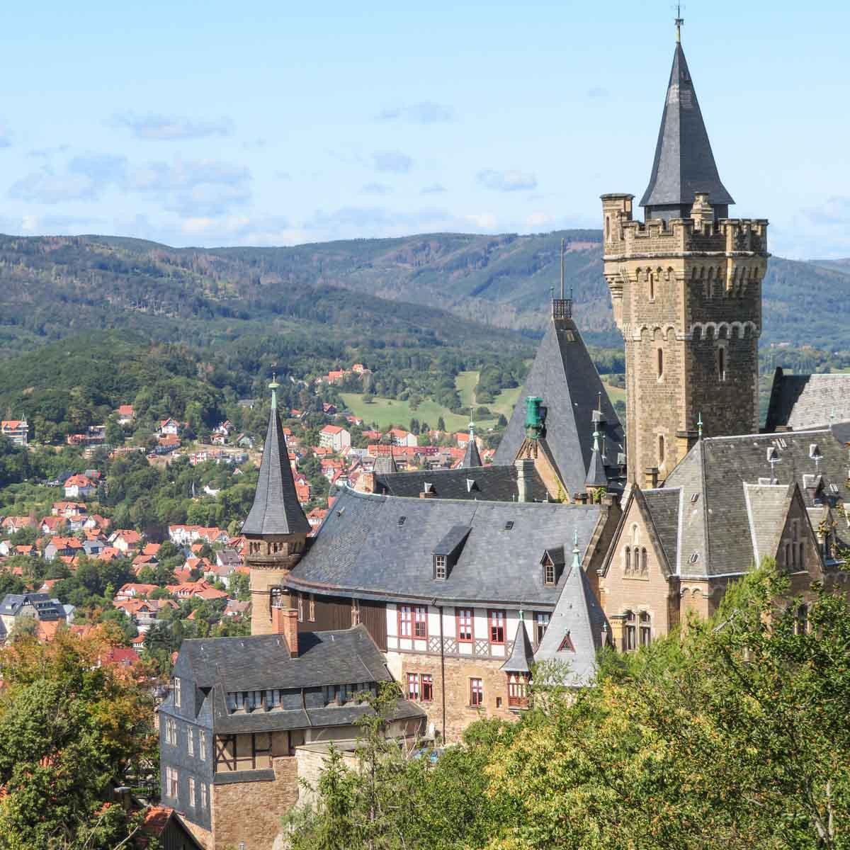 4x de mooiste steden in de Harz [en wat je er kunt doen], kasteel Wernigerode