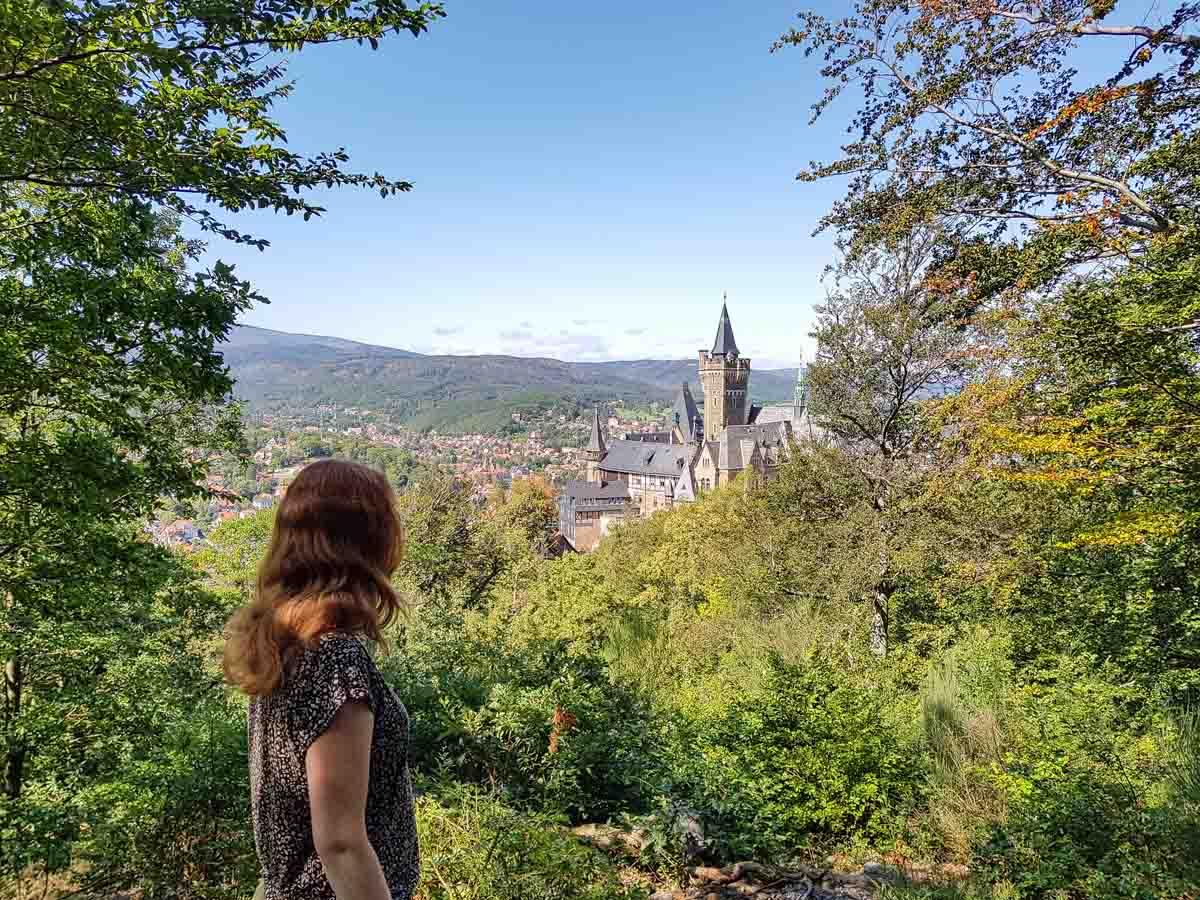 4x de mooiste steden in de Harz, kasteel Wernigerode - Map of Joy