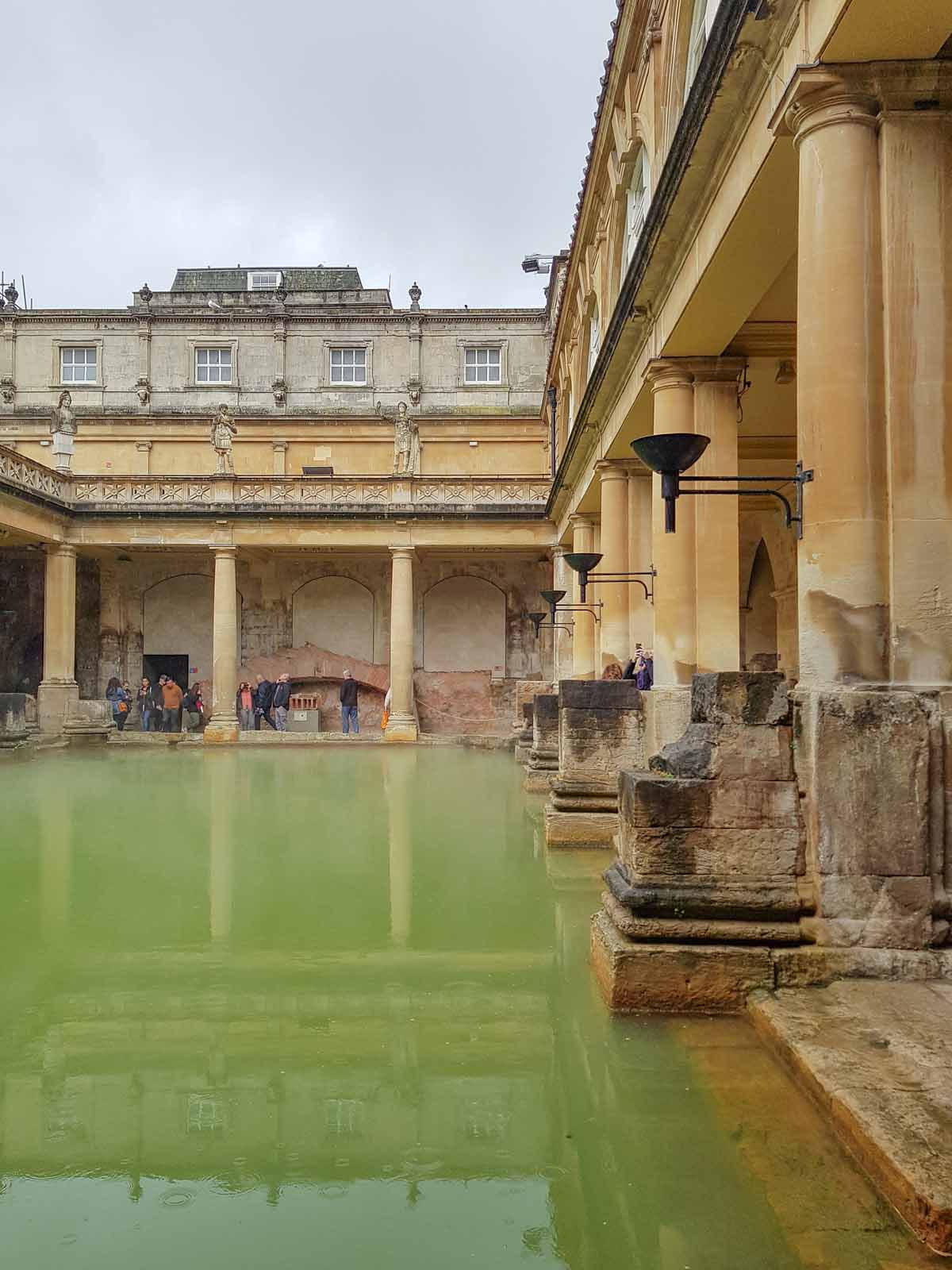 10x zéker doen tijdens je stedentrip Bath, Romeinse Baden - Map of Joy