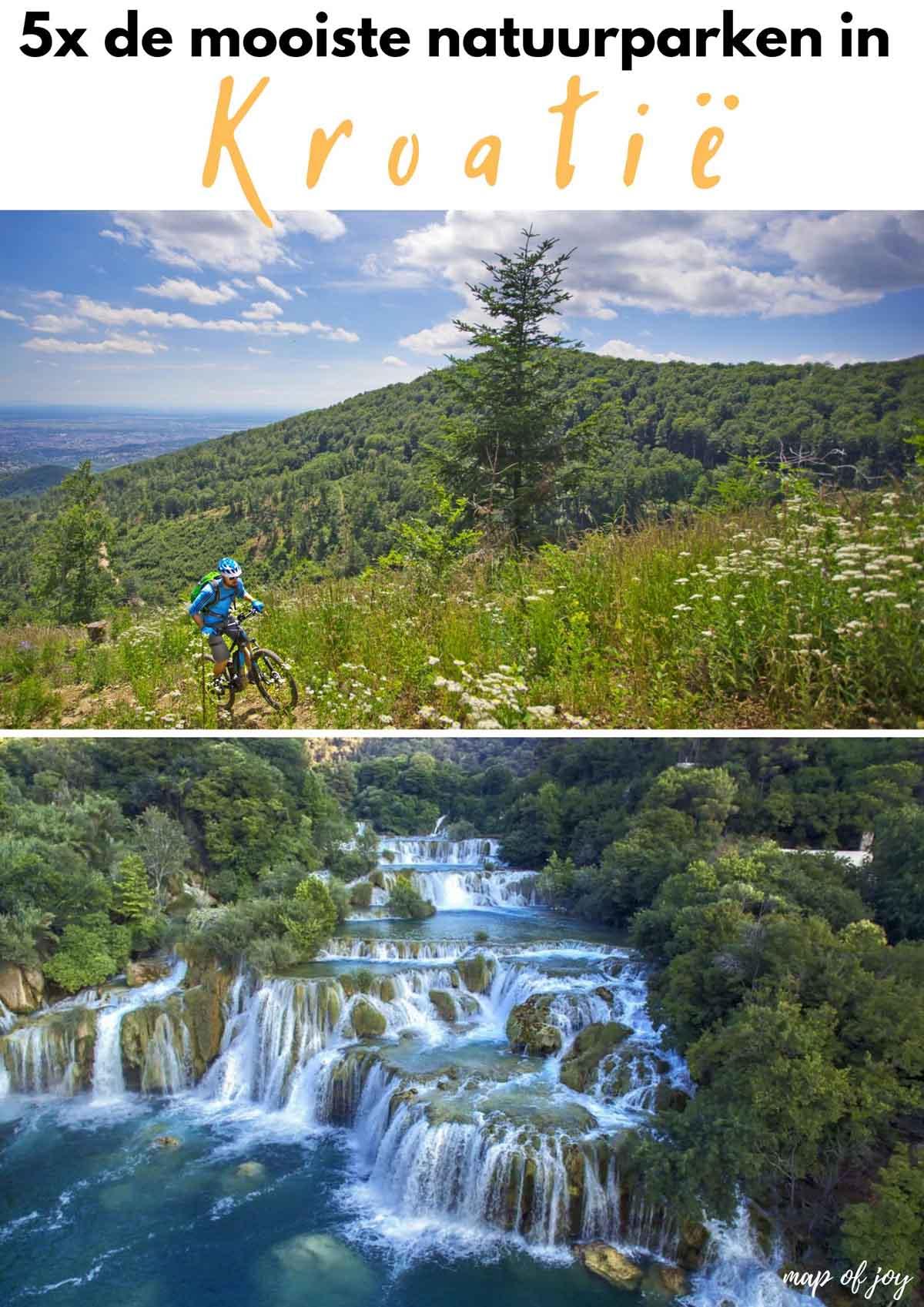 5x de mooiste natuurparken in Kroatië [en wat je er kunt doen] - Map of Joy