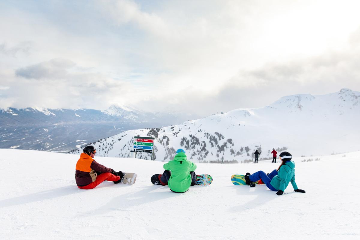 Op skivakantie in Canada's Jasper National Park, Marmot Basin