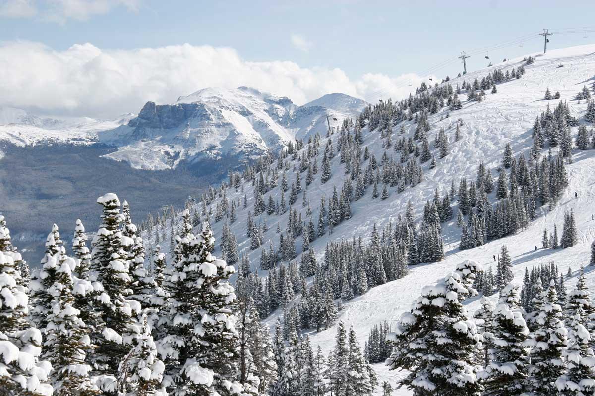Op skivakantie in Canada's Jasper National Park