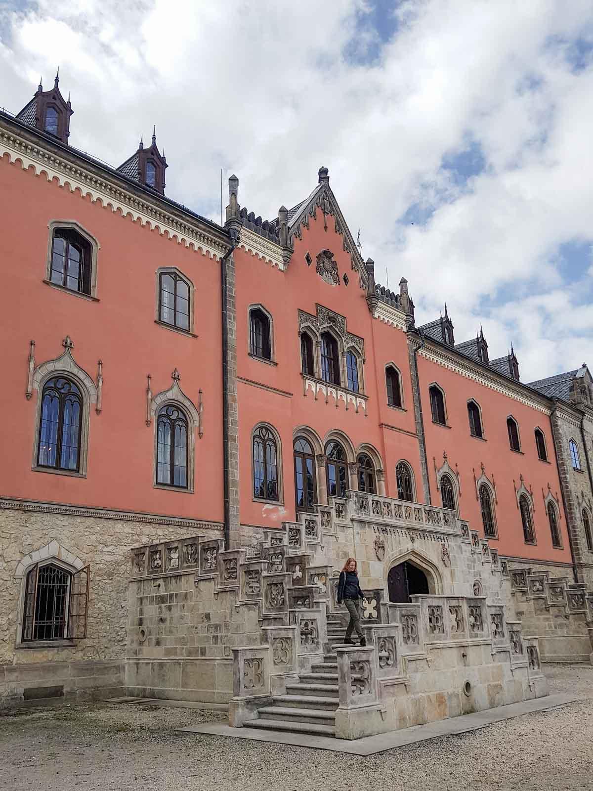 Vakantietips voor de regio Liberec (Noord-Bohemen), kasteel Sychrov - Map of Joy