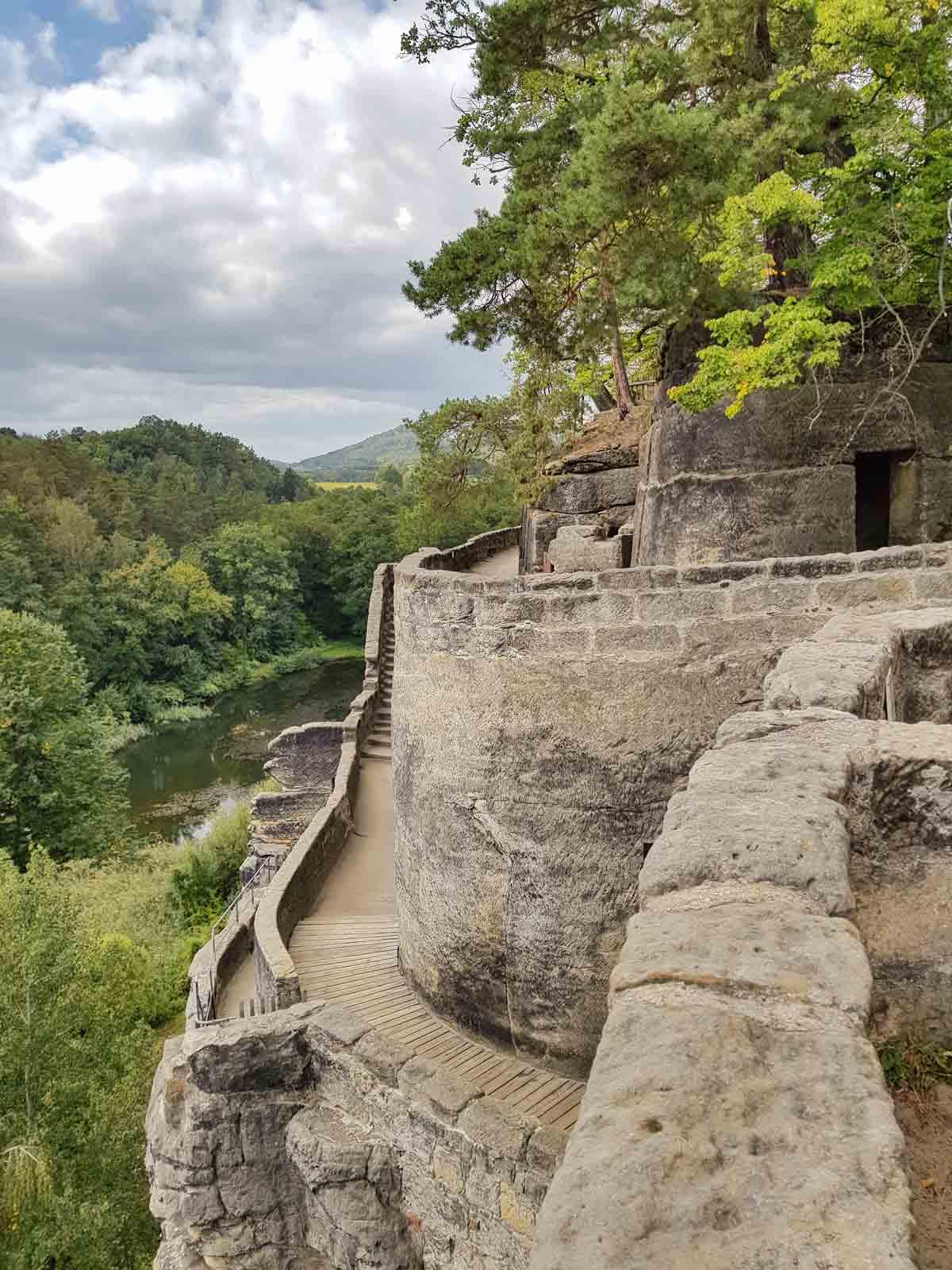Vakantietips voor de regio Liberec (Noord-Bohemen), rotskasteel Sloup - Map of Joy