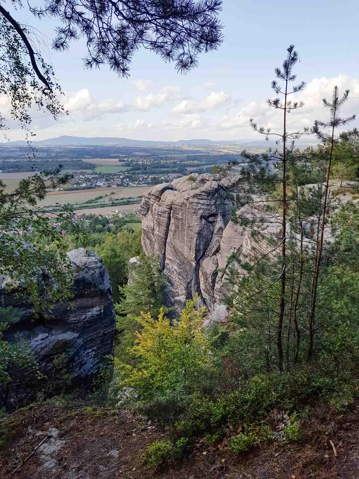 Vakantietips voor de regio Liberec (Noord-Bohemen), Boheems Paradijs - Map of Joy