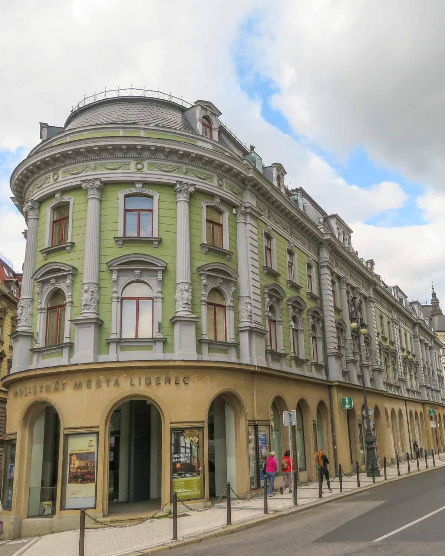 Vakantietips voor de regio Liberec (Noord-Bohemen), Liberec stad - Map of Joy