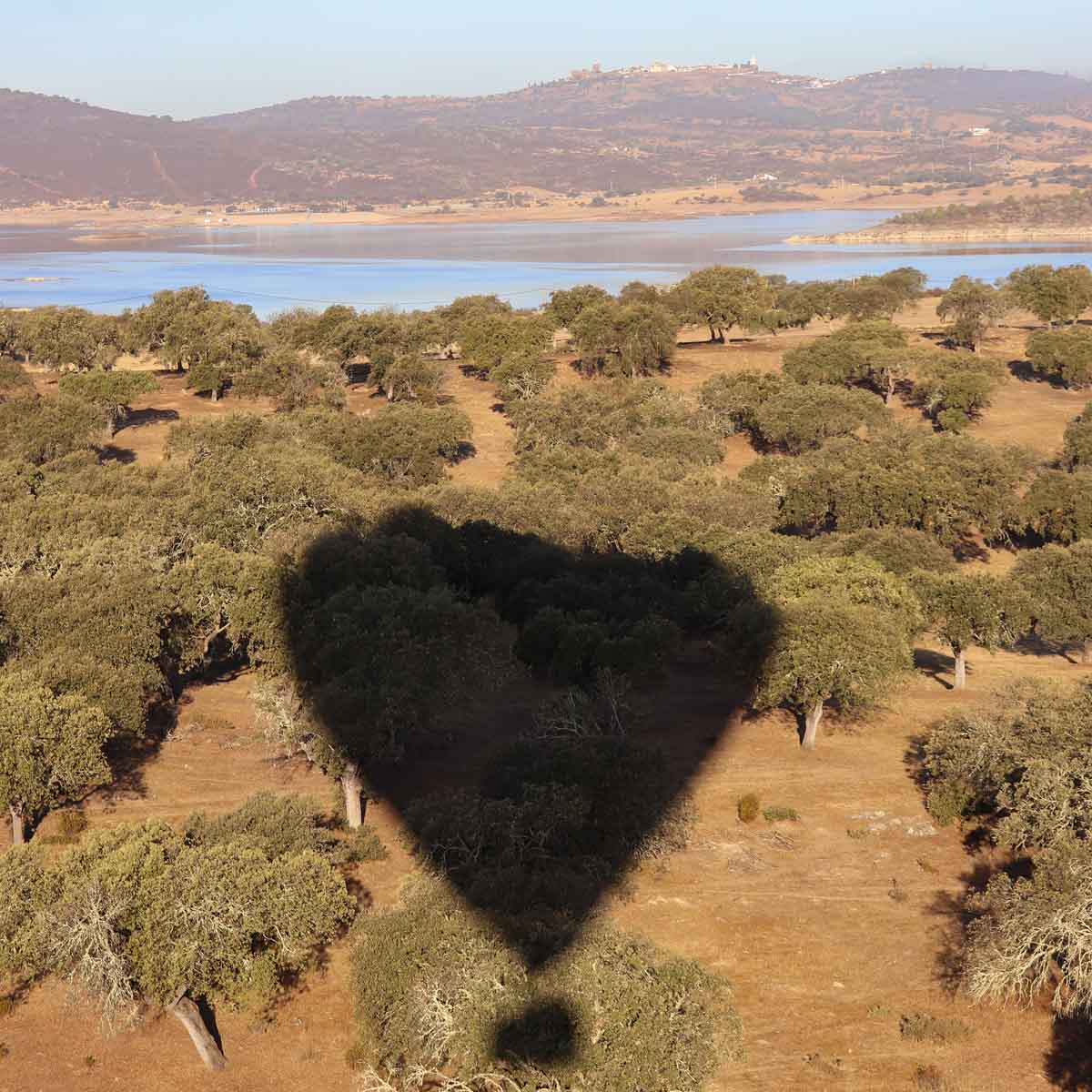 ballonvaart in Alentejo- Map of Joy