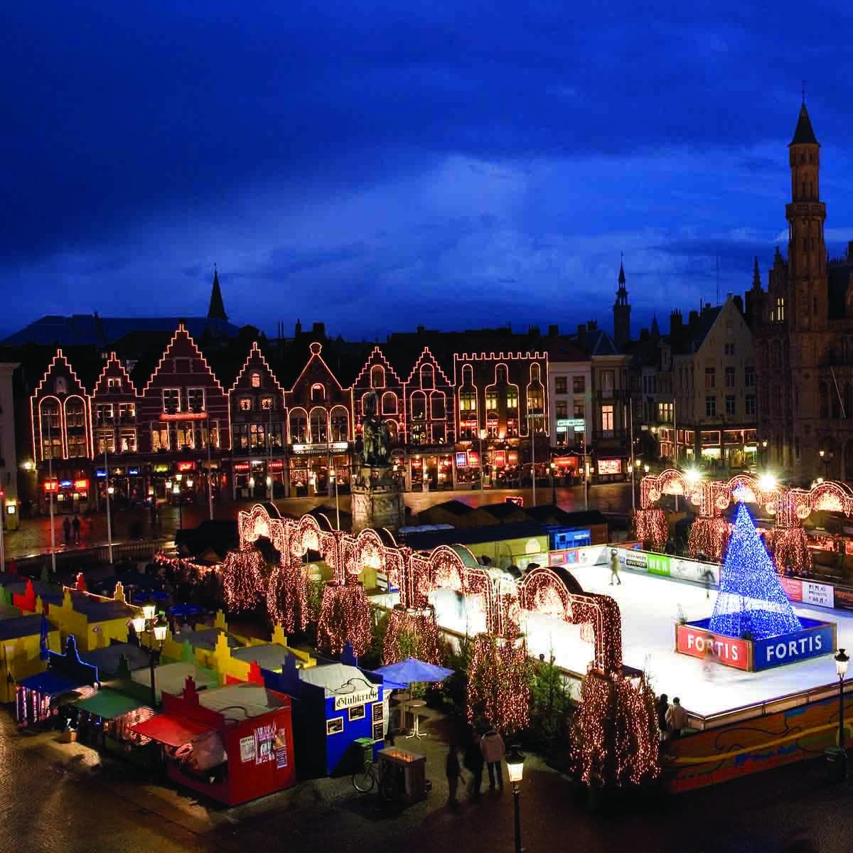 10x de leukste kerstmarkten in België, Brugge - Map of Joy