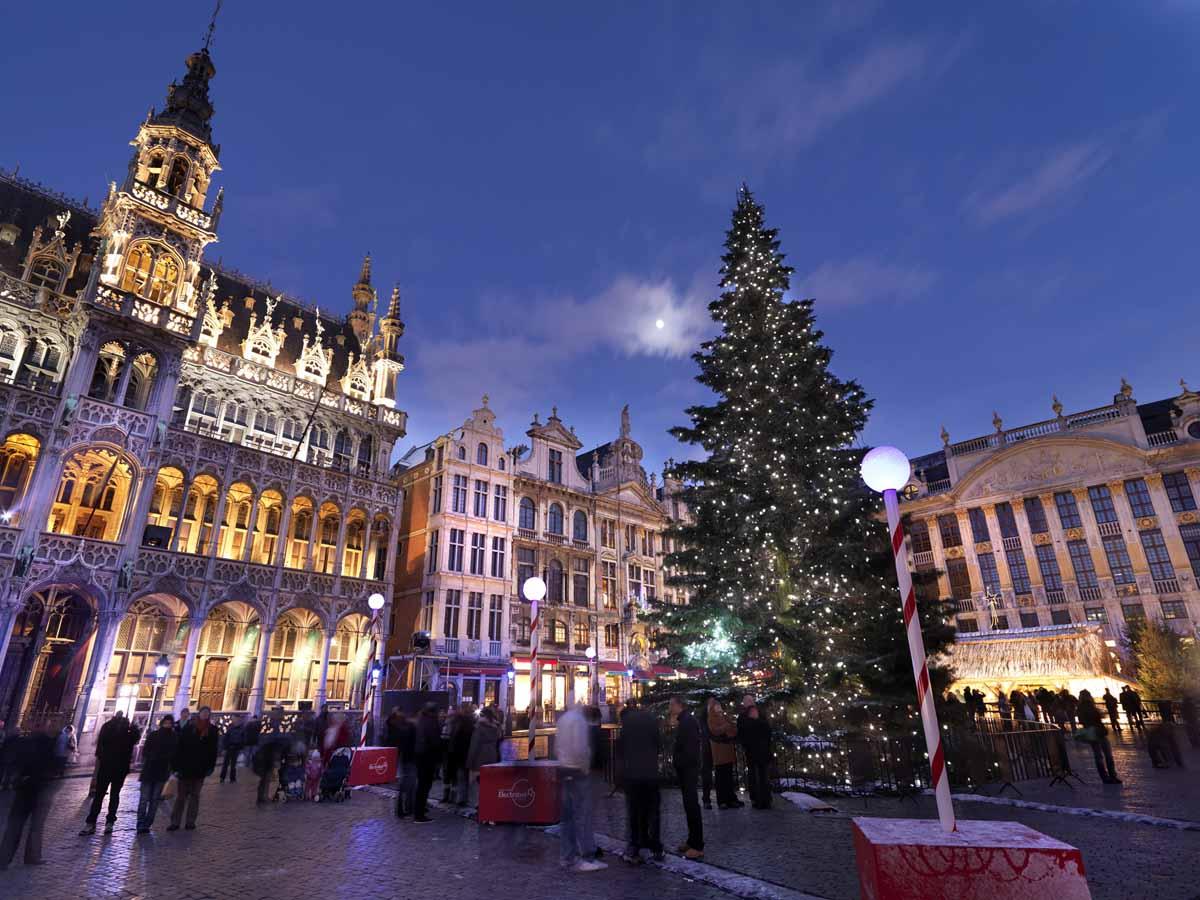 10x de leukste kerstmarkten in België, Brussel - Map of Joy