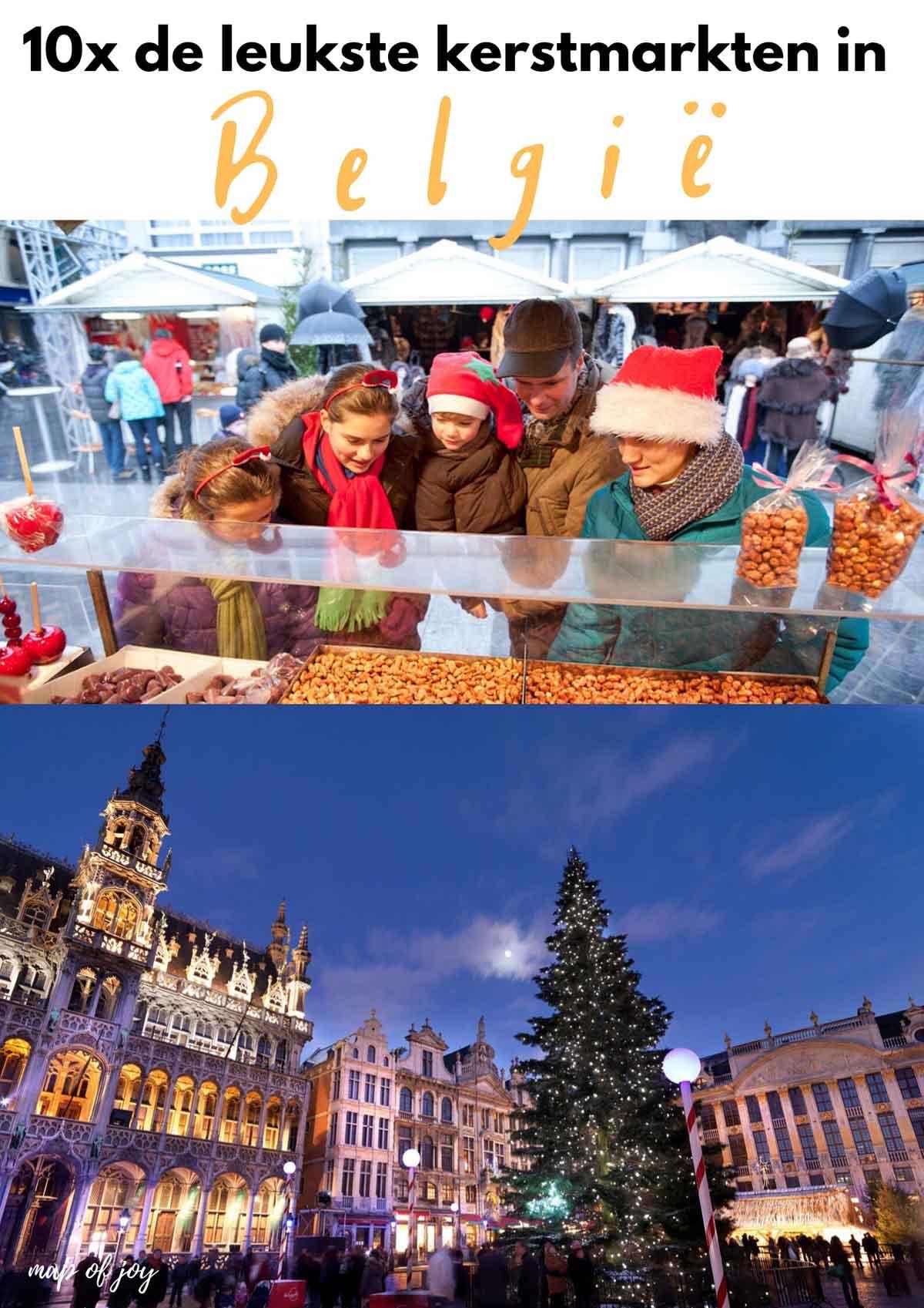10x de leukste kerstmarktn in België - Map of Joy