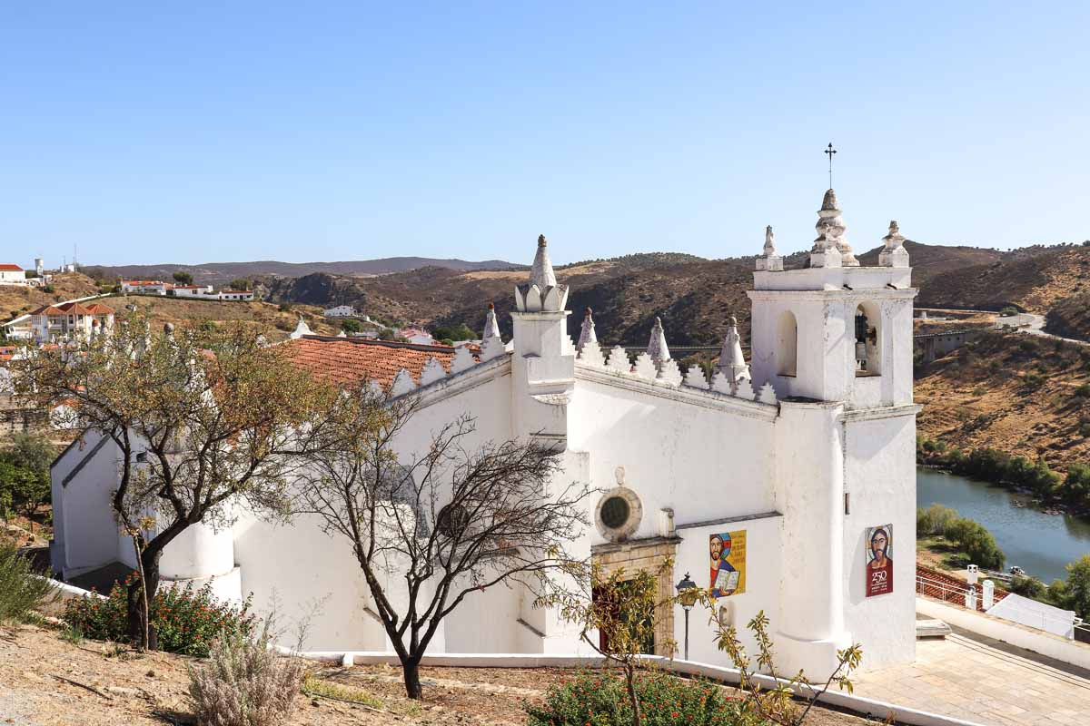 Alentejo, Mertola kerk - Map of Joy