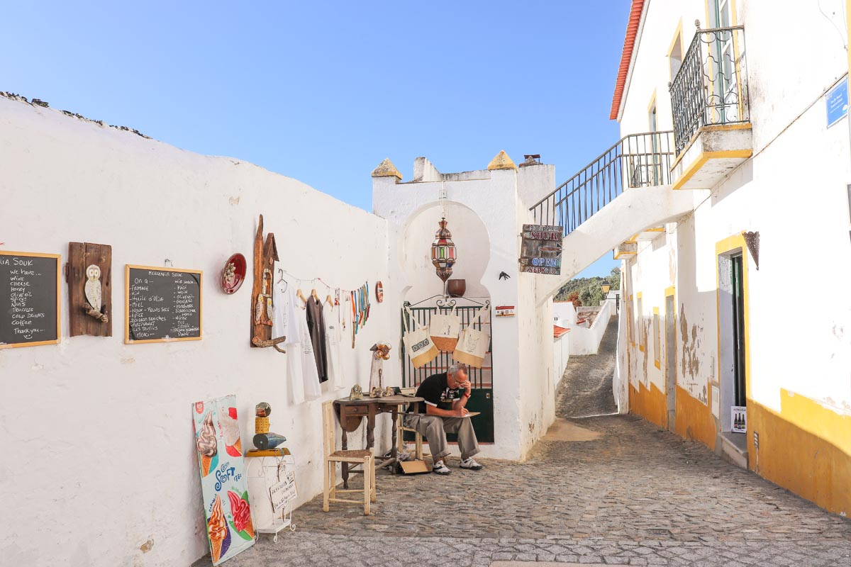 Alentejo, Mertola - Map of Joy