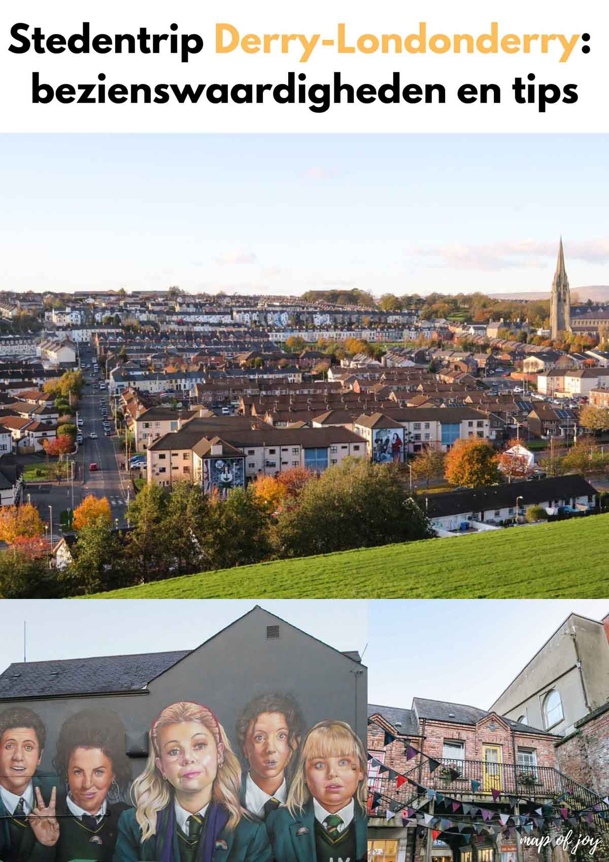 Stedentrip Derry-Londonderry: bezienswaardigheden en tips - Map of Joy