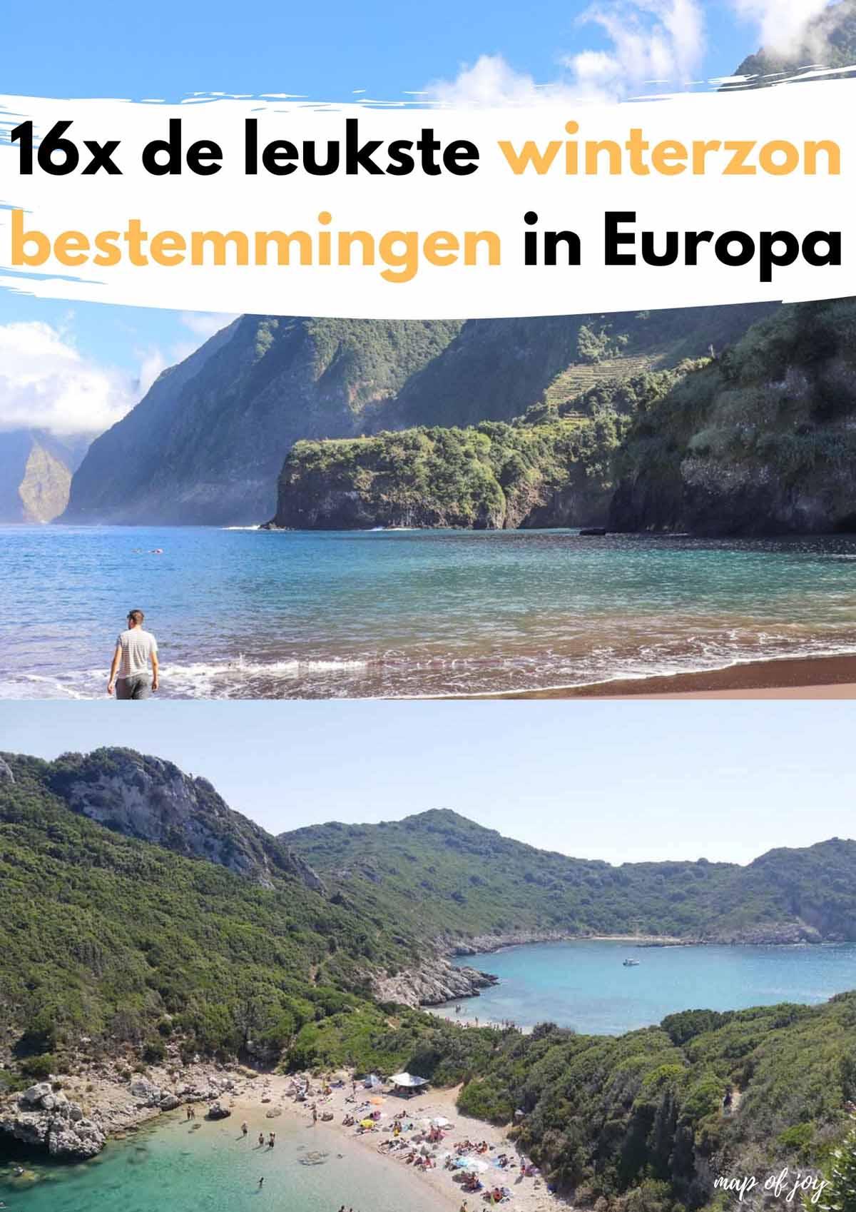 16x de leukste winterzon bestemmingen in Europa - Map of Joy