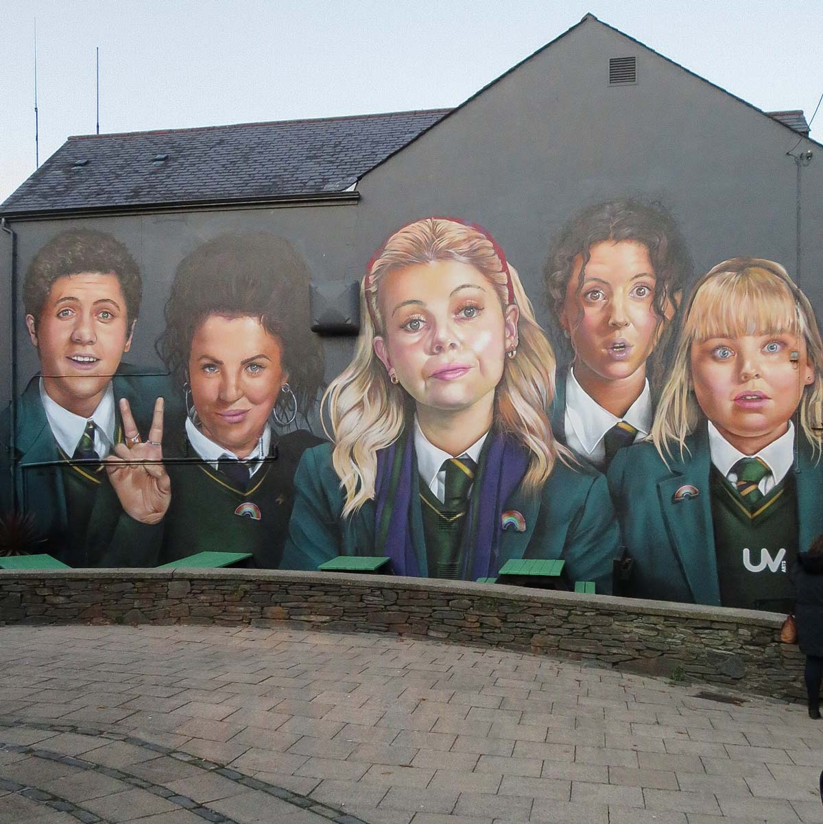 Stedentrip Derry-Londonderry: bezienswaardigheden en tips, Derry Girls mural