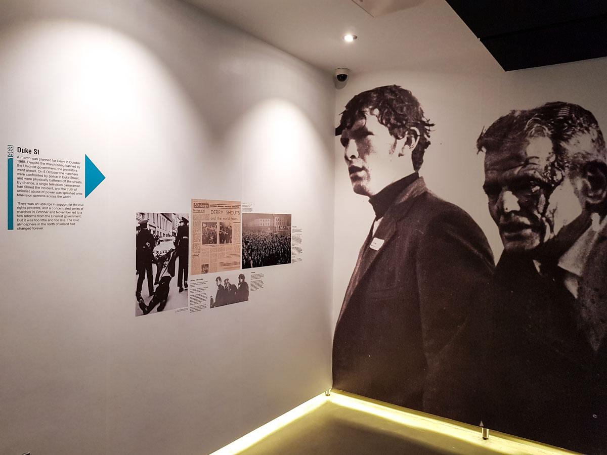 Stedentrip Derry-Londonderry: bezienswaardigheden en tips, Museum of Free Derry