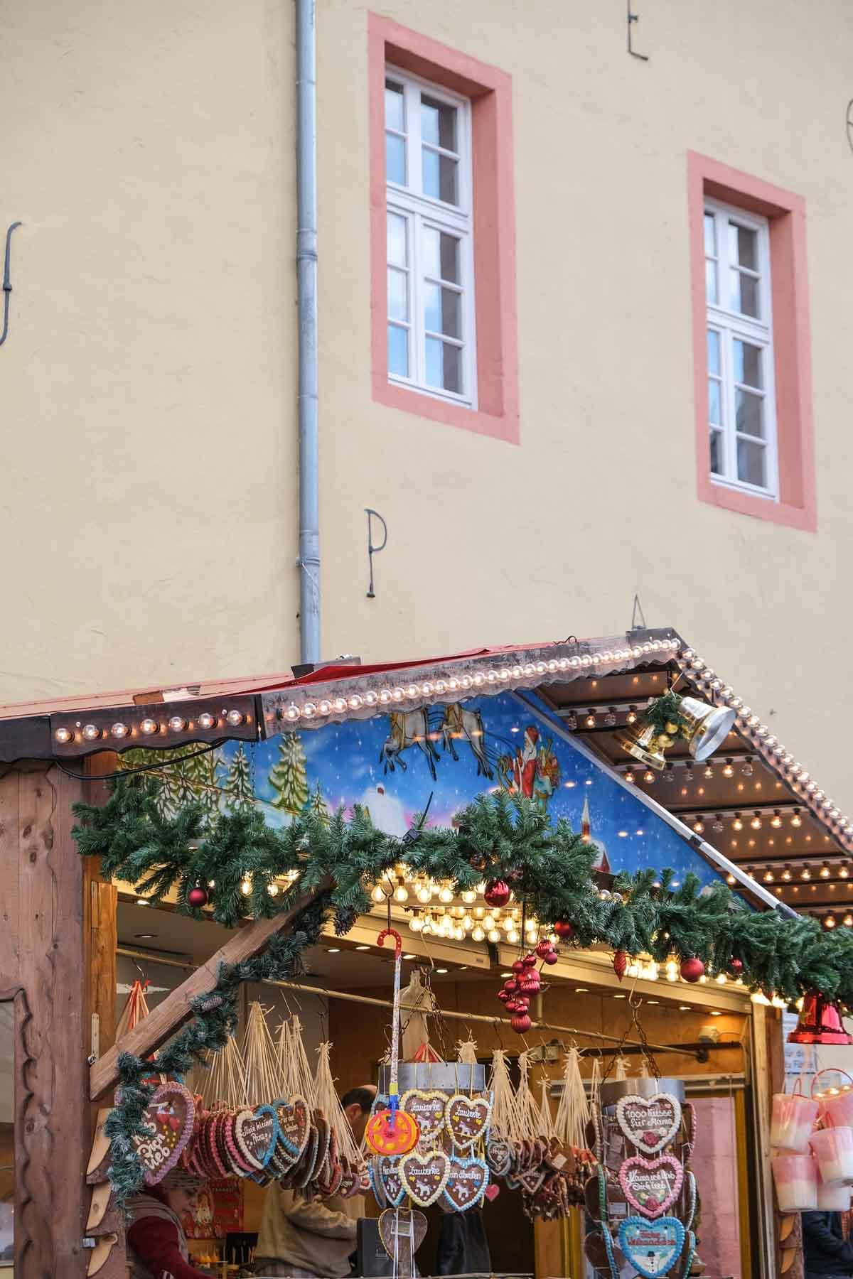 kerstmarkt Bad Münstereifel, Eifel, Duitsland