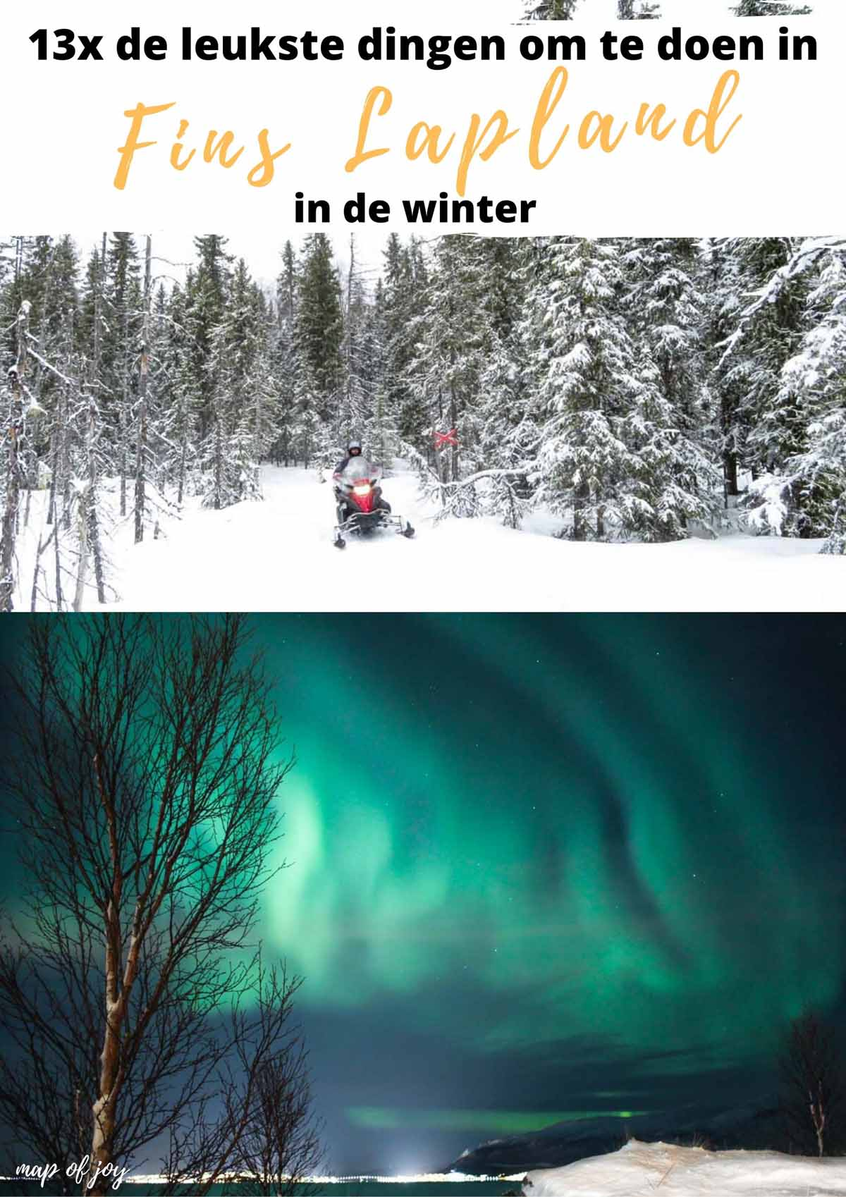 13x de leukste dingen om te doen in Fins Lapland in de winter - Map of Joy