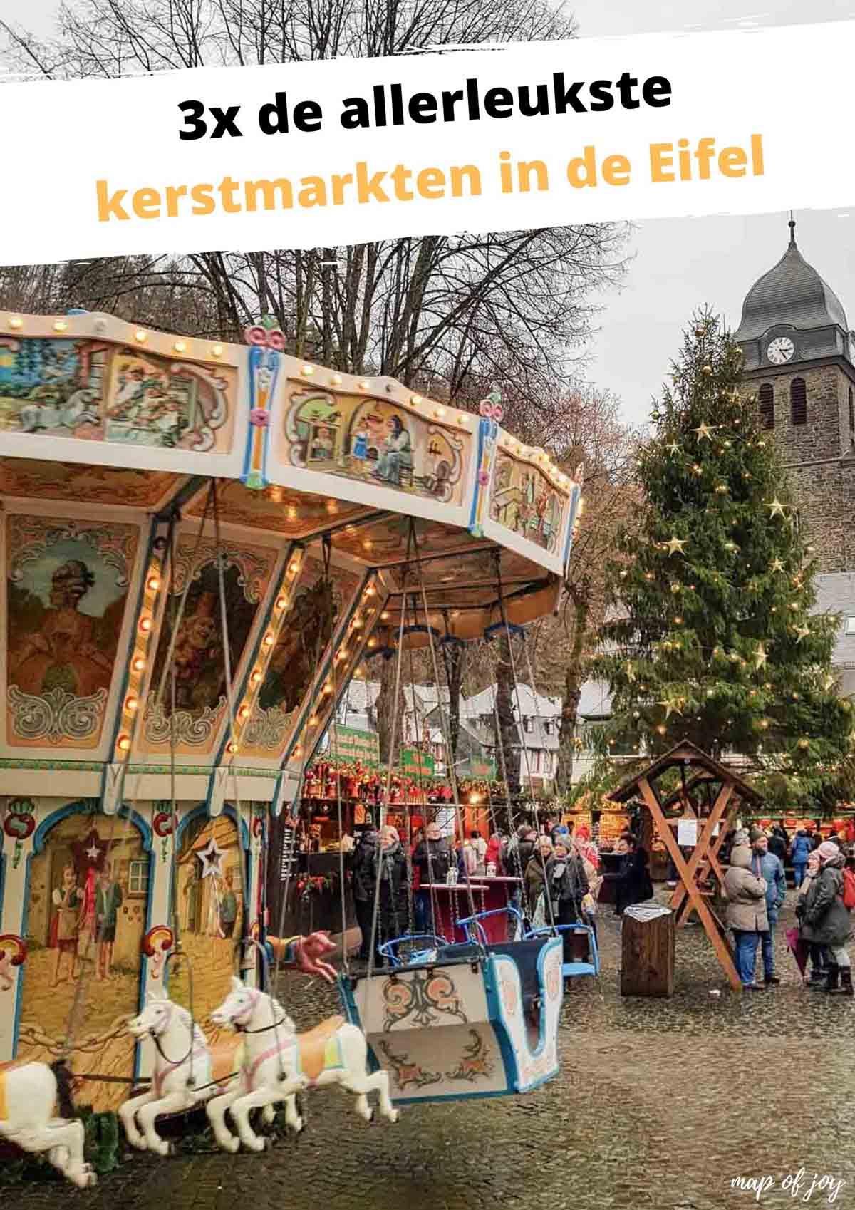 3x de allerleukste kerstmarkten in de Eifel - Map of Joy