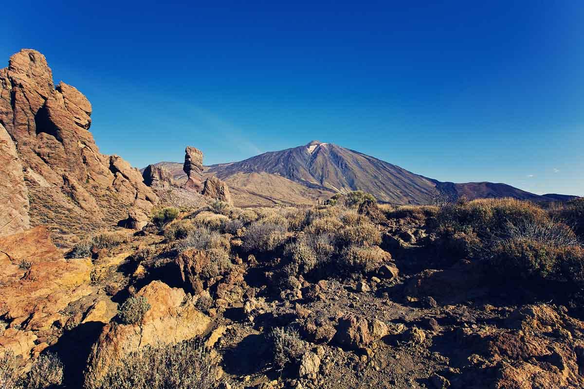 El Teide op Tenerife