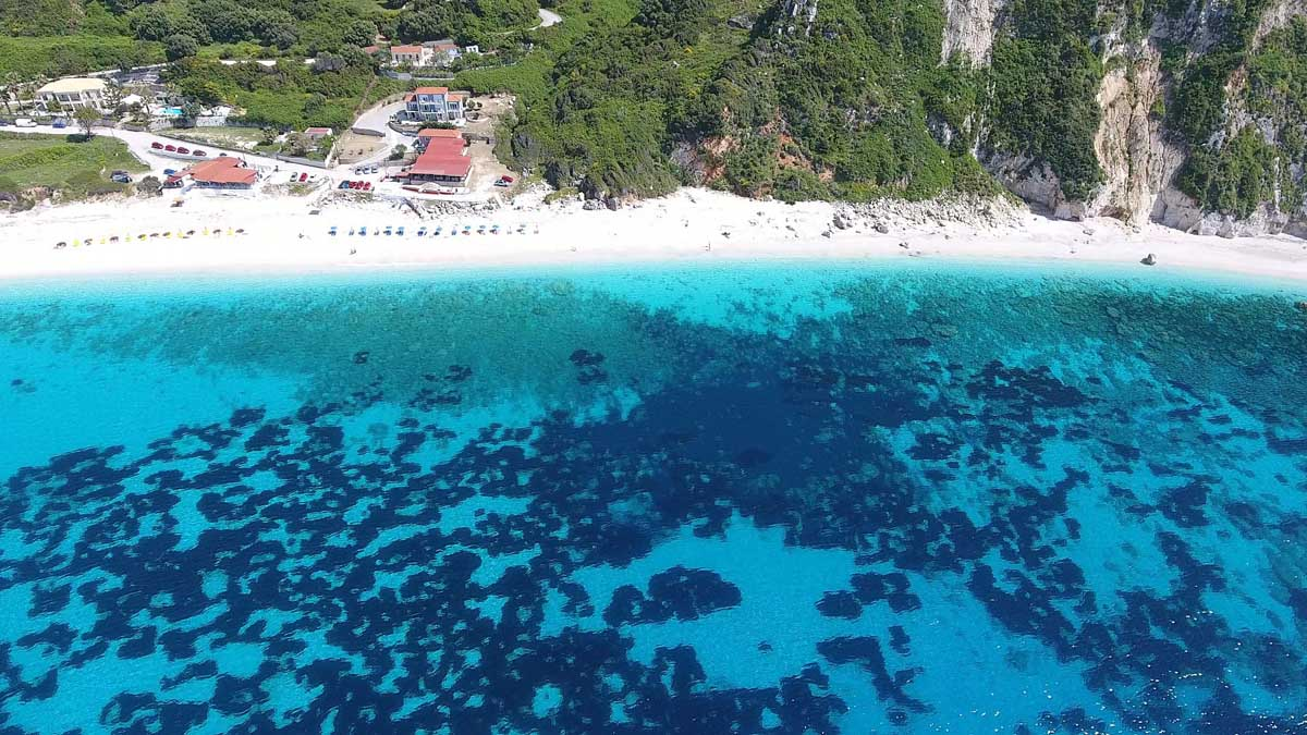 Kefalonika, griekenland strand
