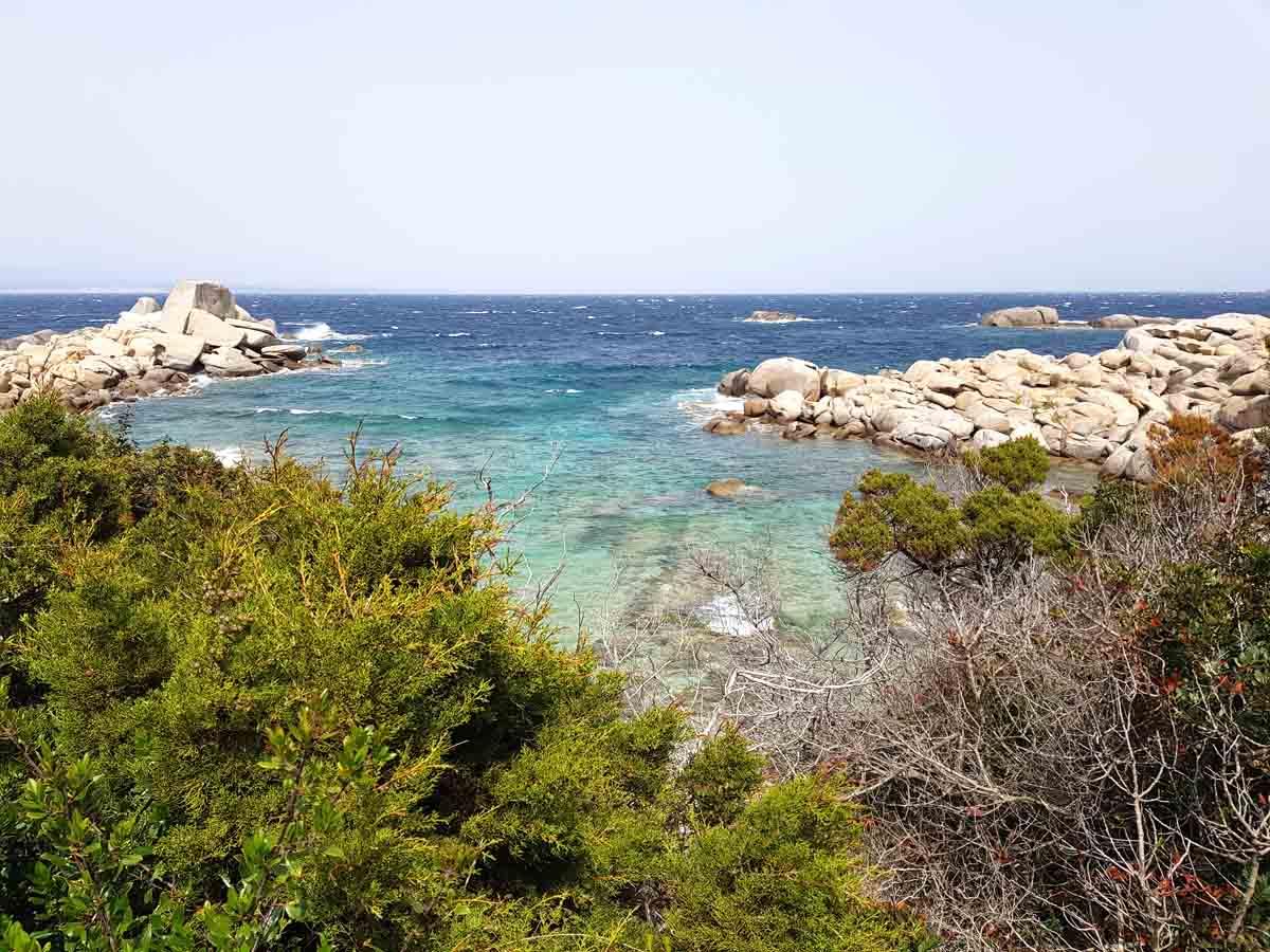 mooi strand Sardinië Spiaggia Rena Bianca