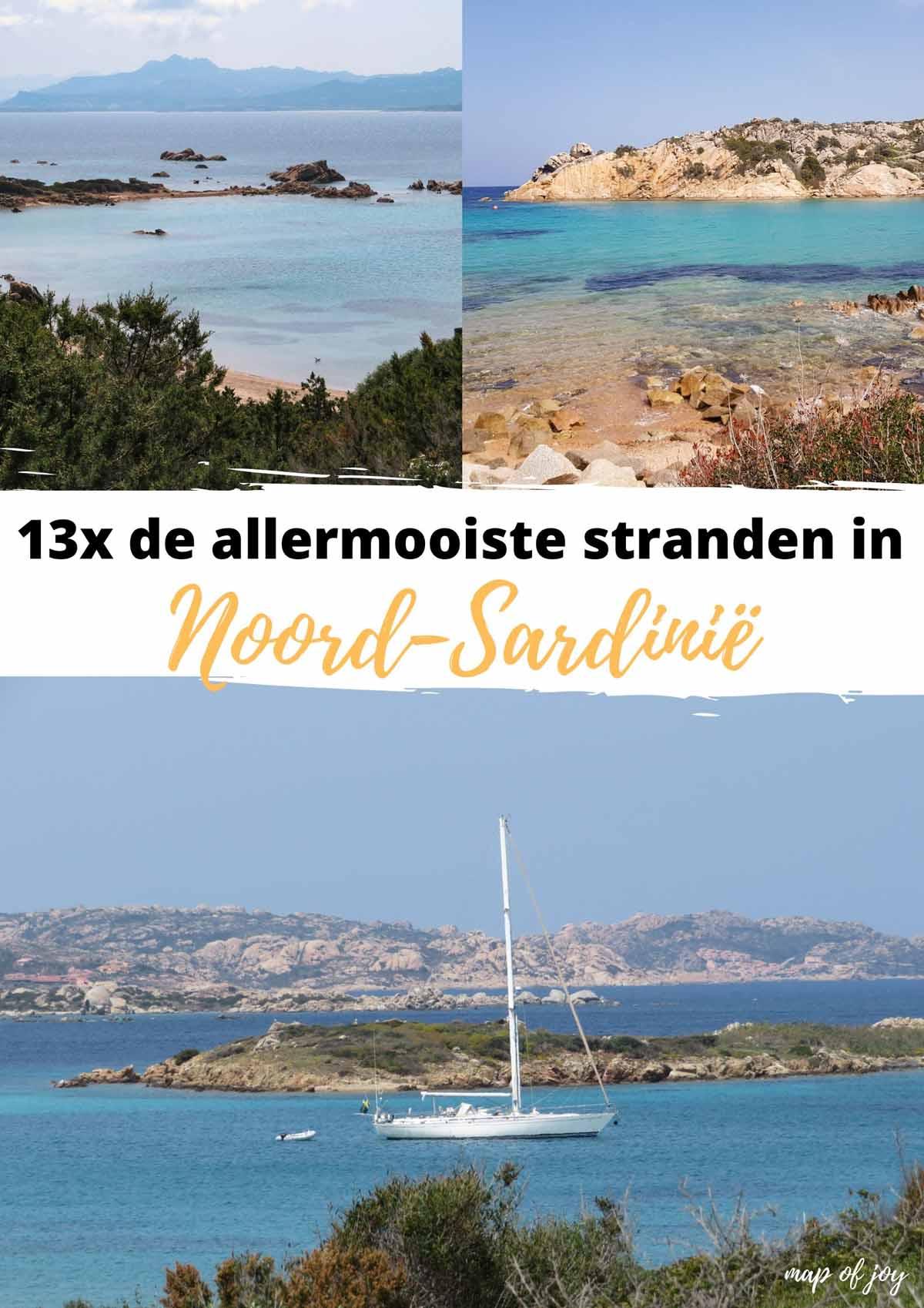 13x de allermooiste stranden in Noord-Sardinië - Map of Joy