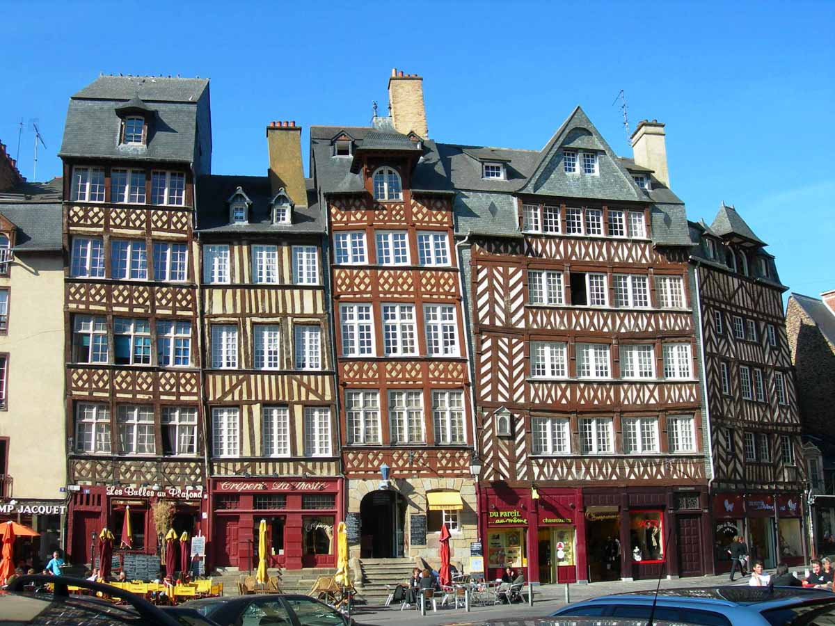 Leukste steden Bretagne, Rennes