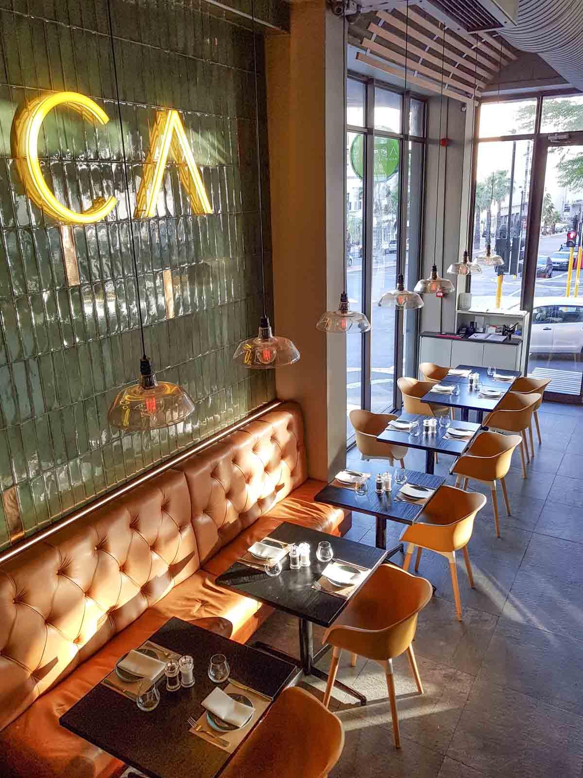 24x eten en drinken in het centrum van Kaapstad bij de leukste adresjes, Bocca - Map of Joy