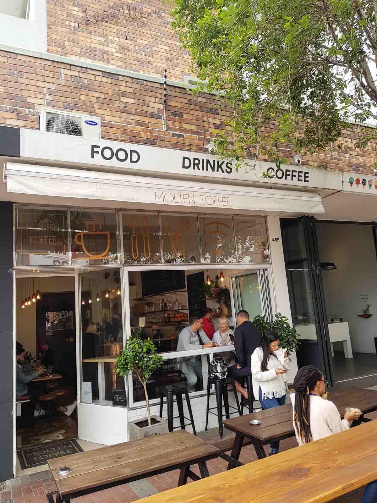 24x eten en drinken in het centrum van Kaapstad bij de leukste adresjes, Molten Toffee - Map of Joy