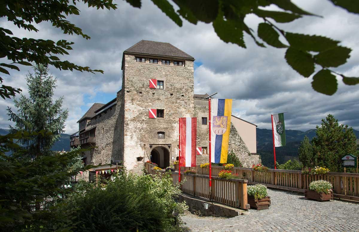 Kasteel Oberkapfenberg, Hoogsteiermark, Oostenrijk
