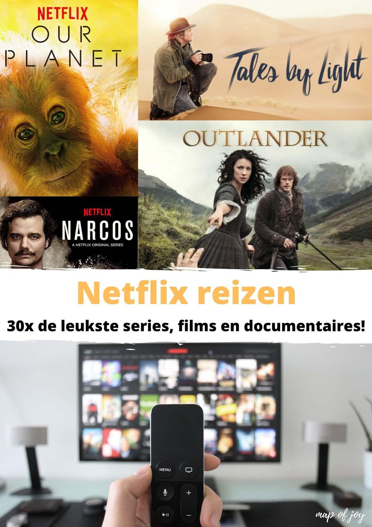 Netflix reizen: 30x de leukste series, films en documentaires!