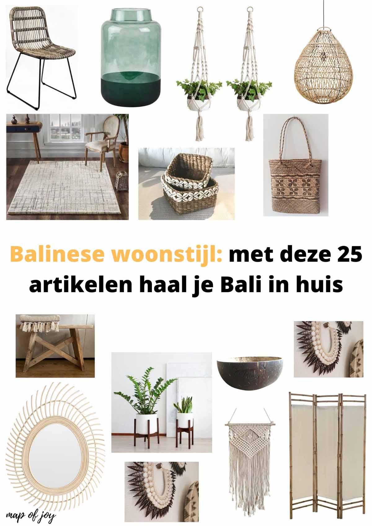Balinese woonstijl: met deze 25 artikelen haal je Bali in huis - Map of Joy