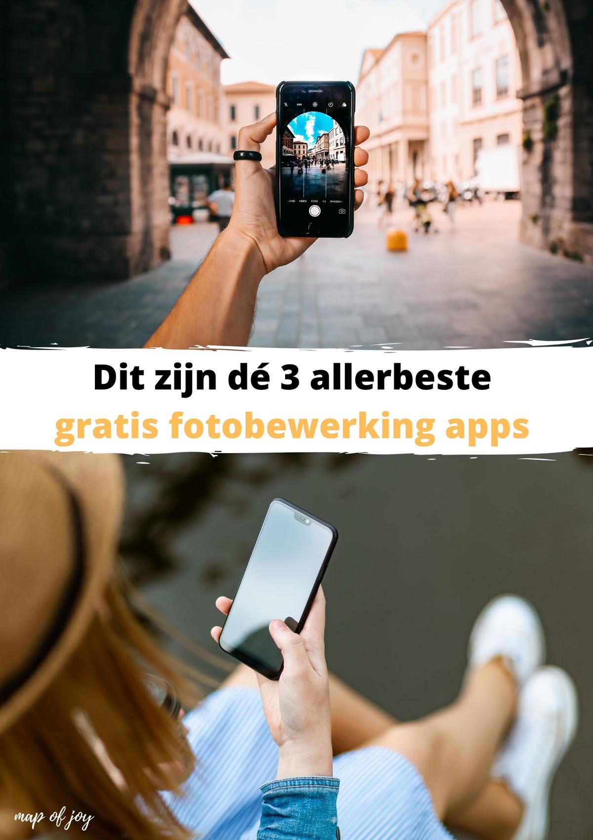 Dit zijn dé 3 allerbeste gratis fotobewerking apps voor op reis