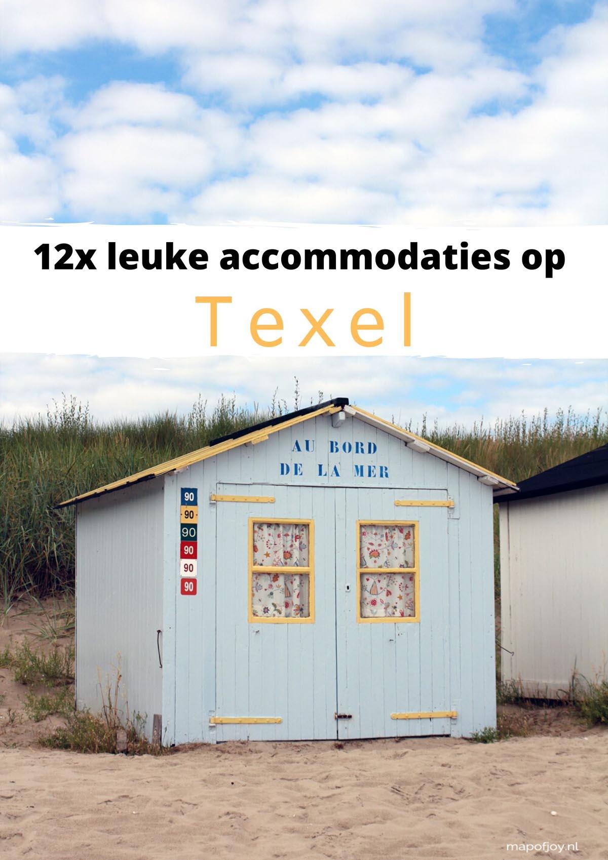 12x leuke accommodaties op Texel
