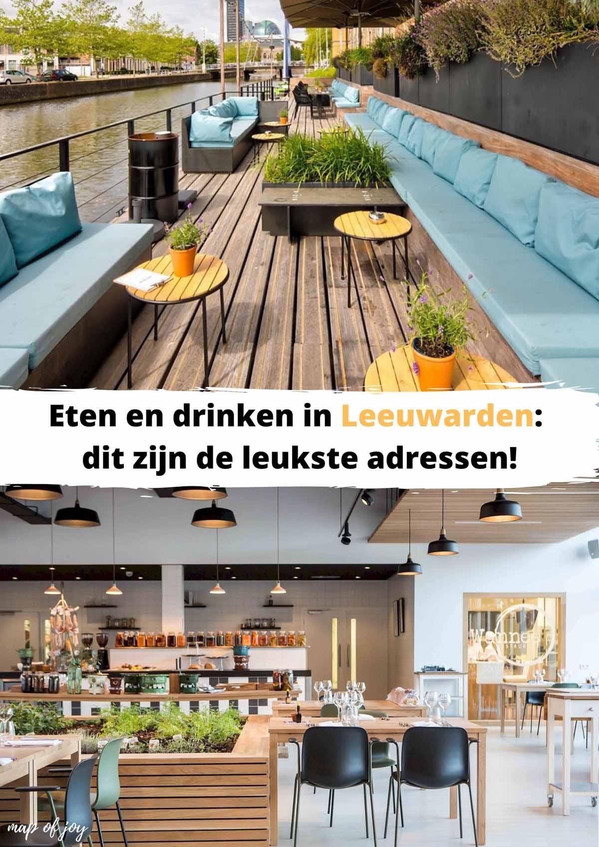 28x eten en drinken in Leeuwarden