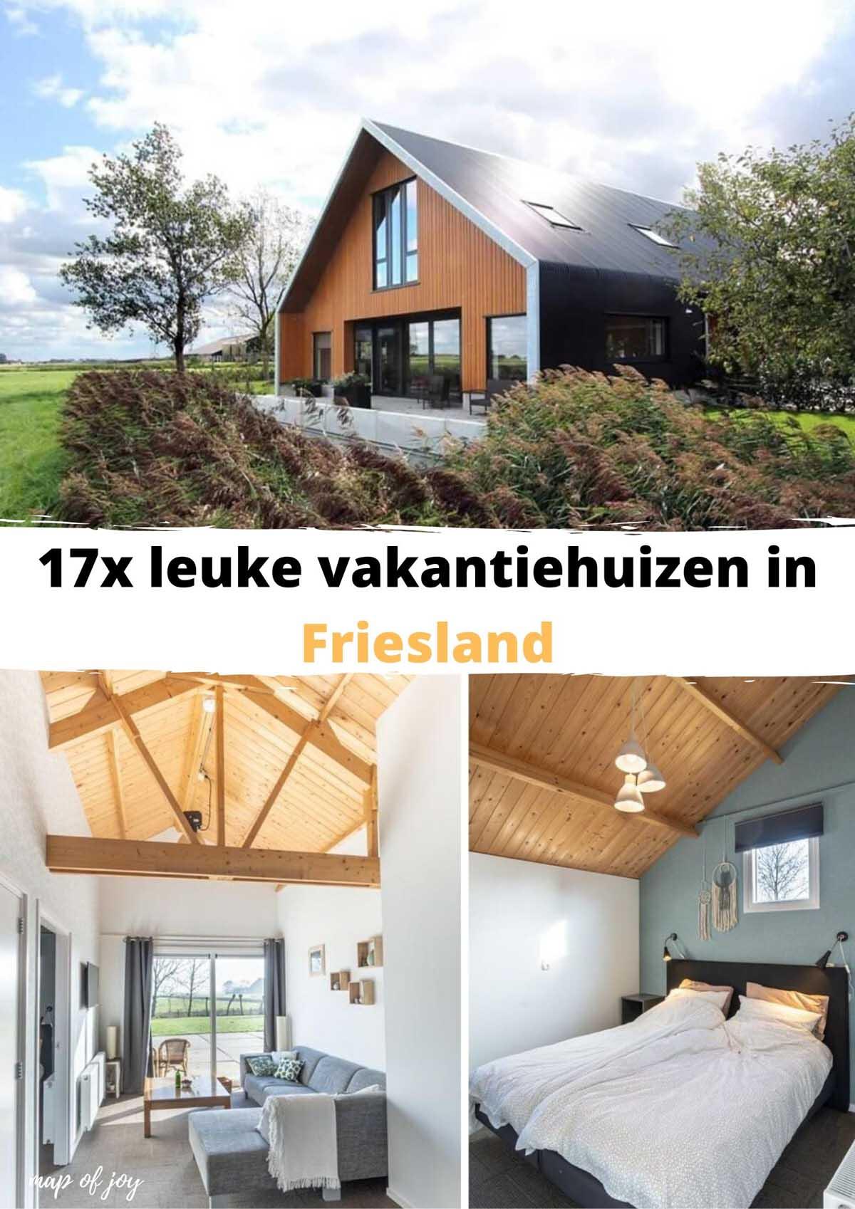 17x leuke vakantiehuizen in Friesland