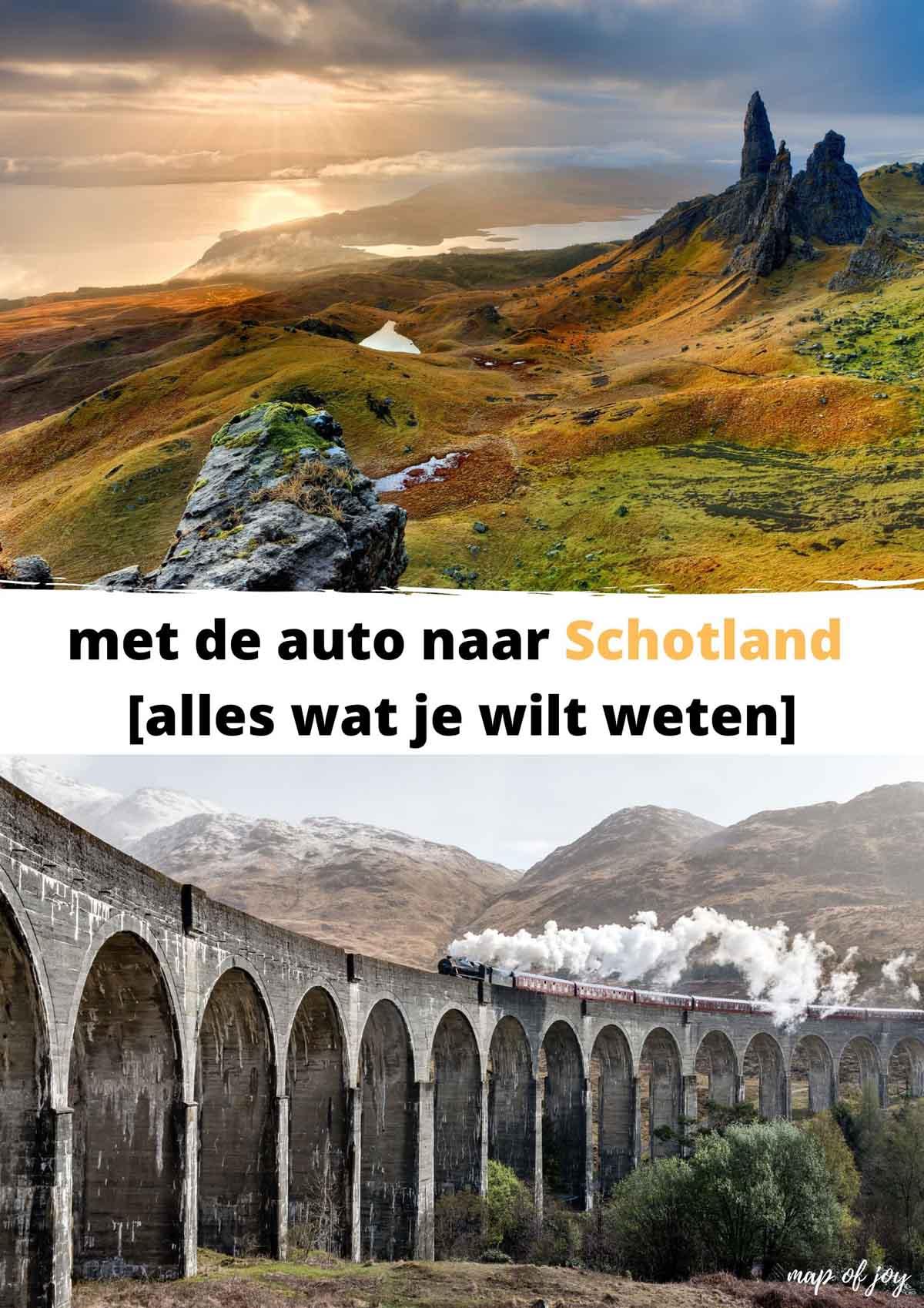 Met de auto naar Schotland: alles wat je wilt weten