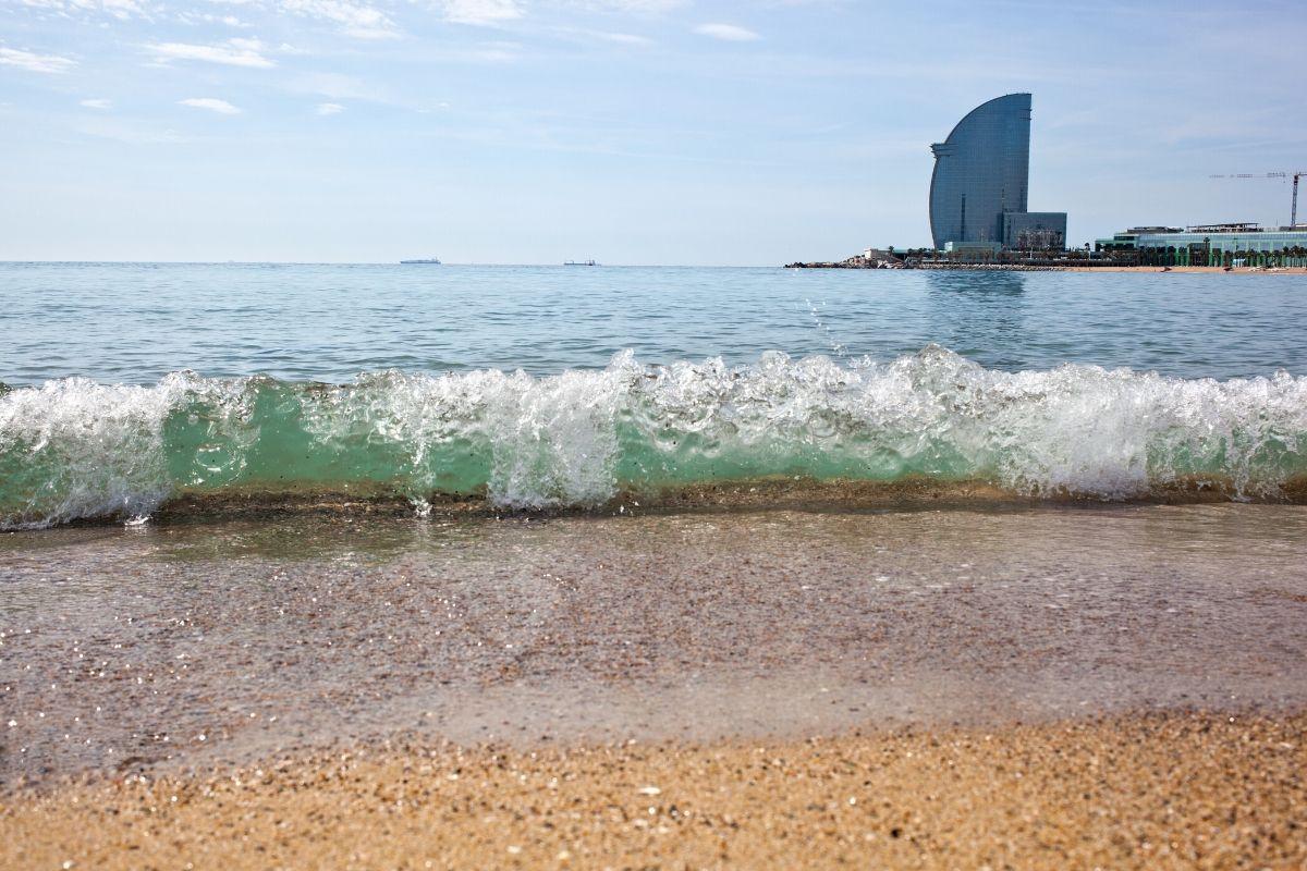 Barceloba tips, La Barceloneta strand