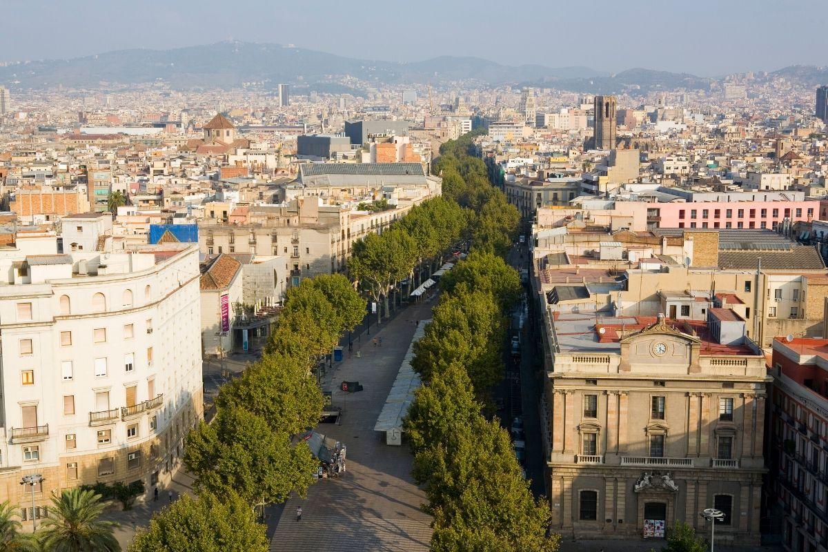 Tips voor een eerste keer Barcelona, Ramblas