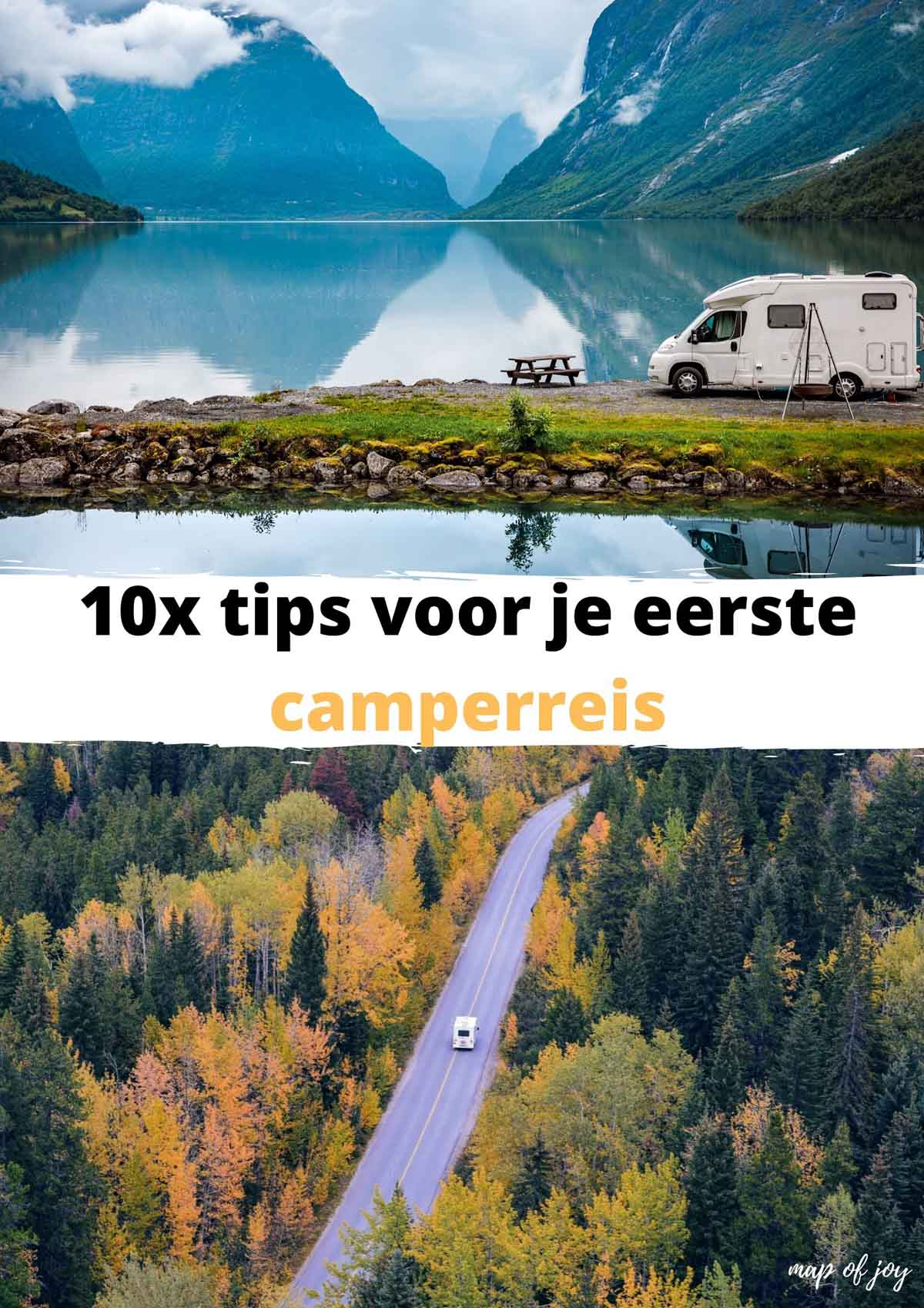 10x tips voor je eerste camperreis
