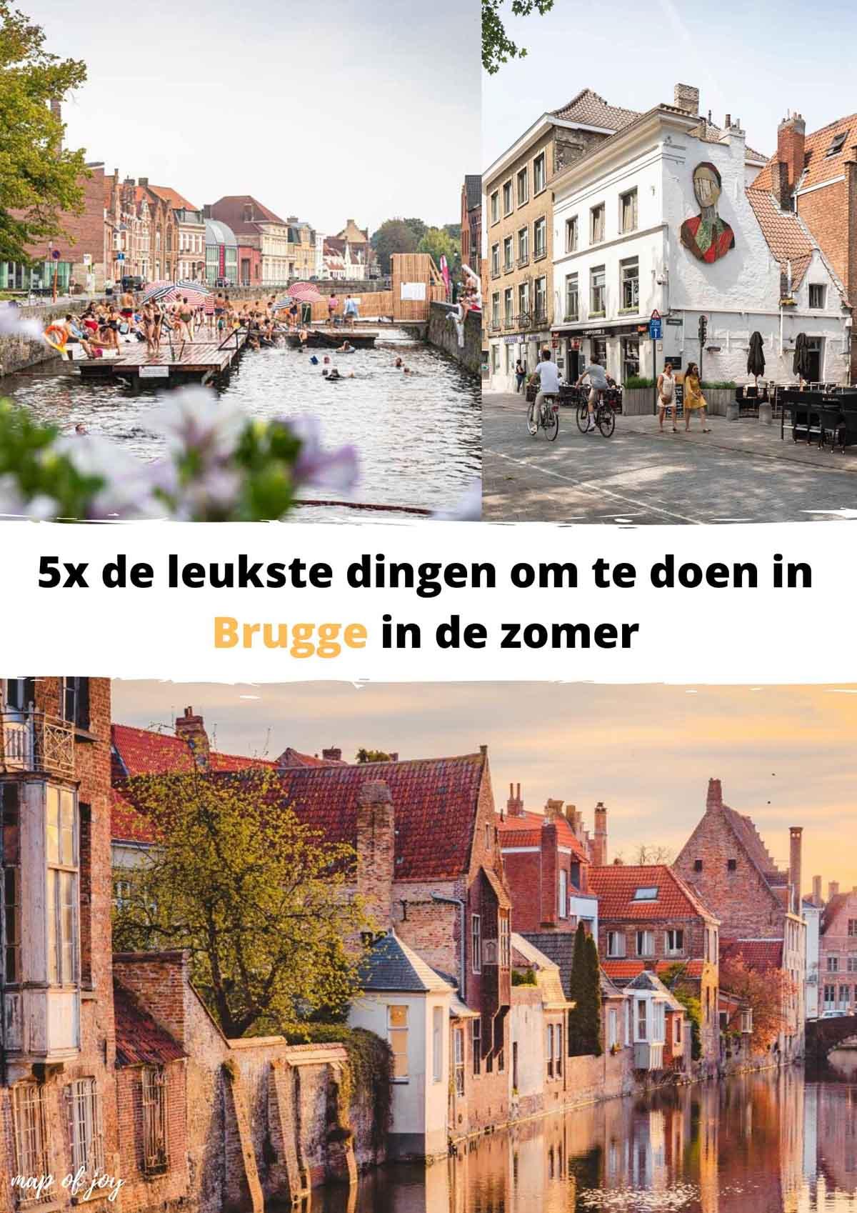 De leukste dingen om te doen in Brugge in de zomer