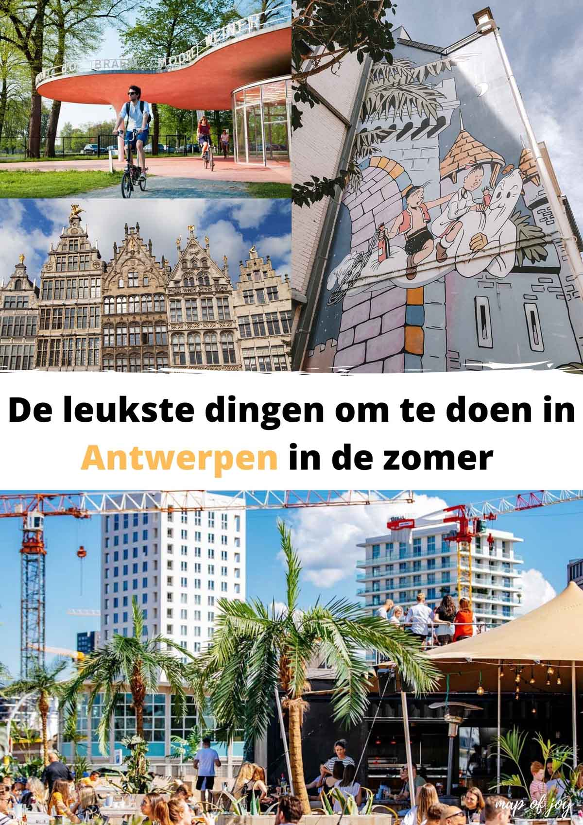 De leukste dingen om te doen in Antwerpen in de zomer